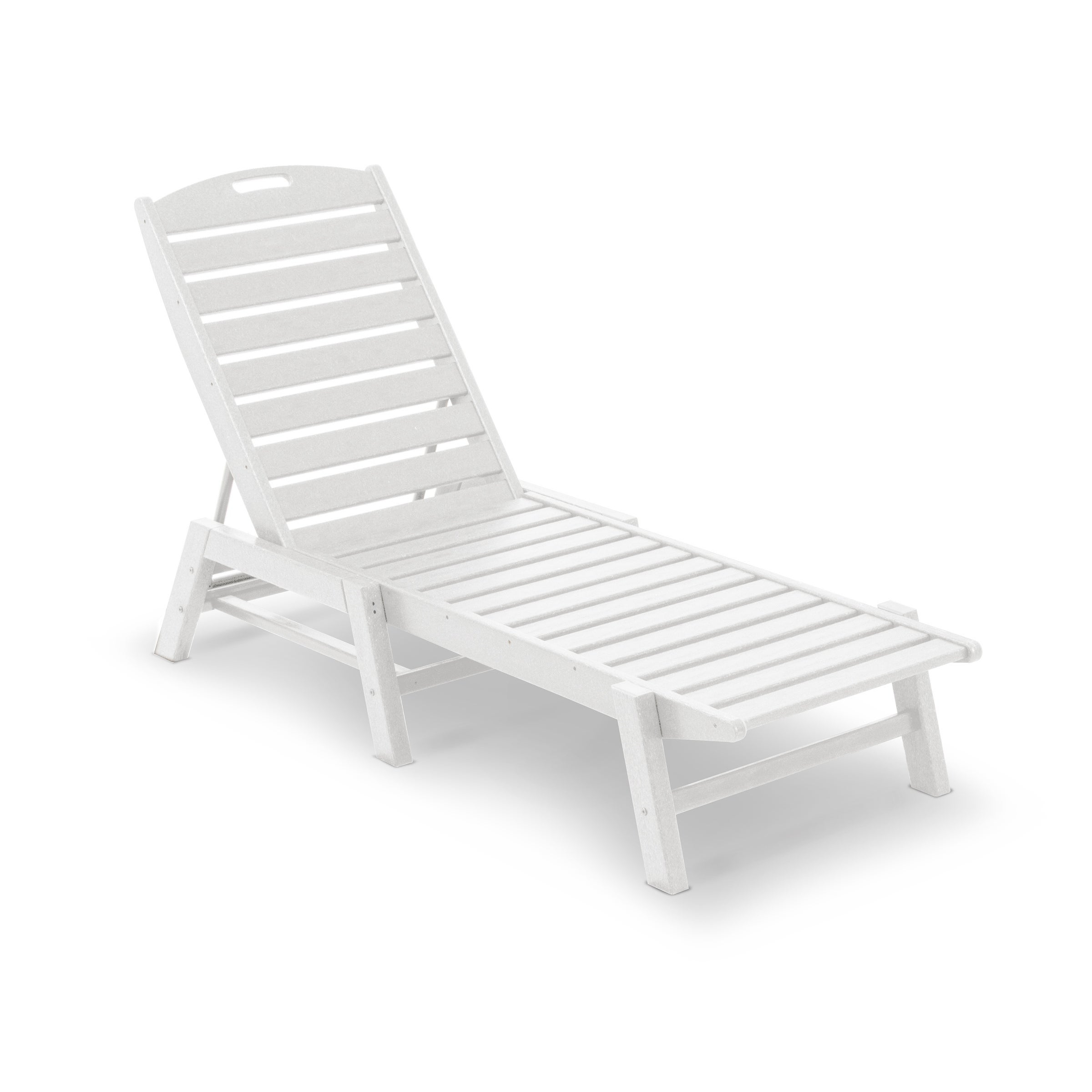 Polywood® Nautical Outdoor Chaise Lounge, Stackable In 2019 Nautical Outdoor Chaise Lounges With Arms (View 17 of 25)