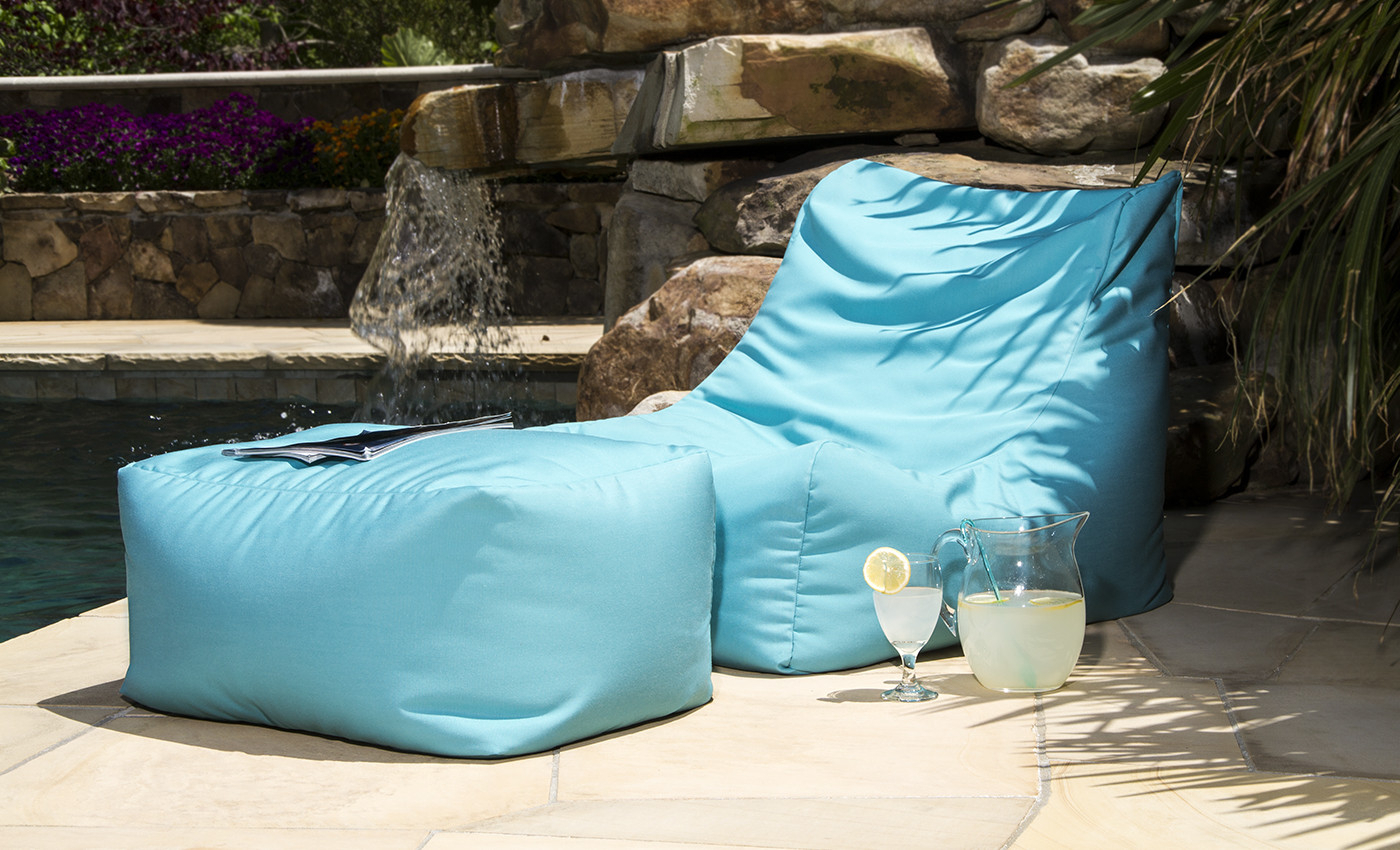 Ponce Outdoor Bean Bag Chair – Sunfield (View 18 of 25)