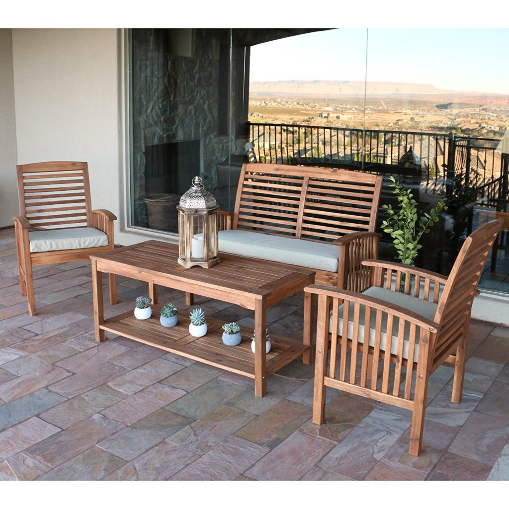 Popular 9+ Wonderful Acacia Wood Outdoor Patio Furniture Collection Throughout Havenside Home Surfside Outdoor Lounge Chairs (View 22 of 25)