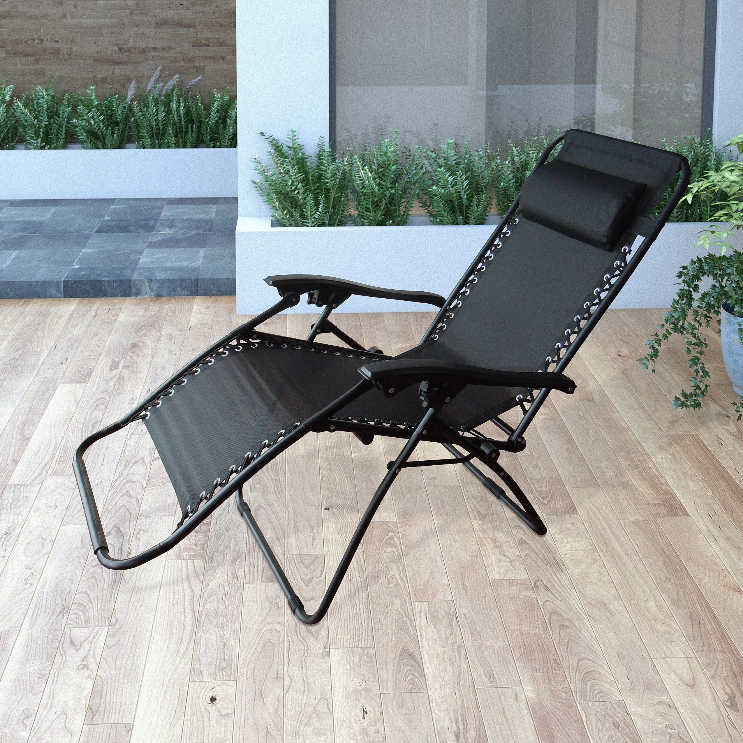 Popular Corliving Riverside Textured Loungers Pertaining To Corliving Riverside Textured Zero Gravity Lounger (Gallery 9 of 25)