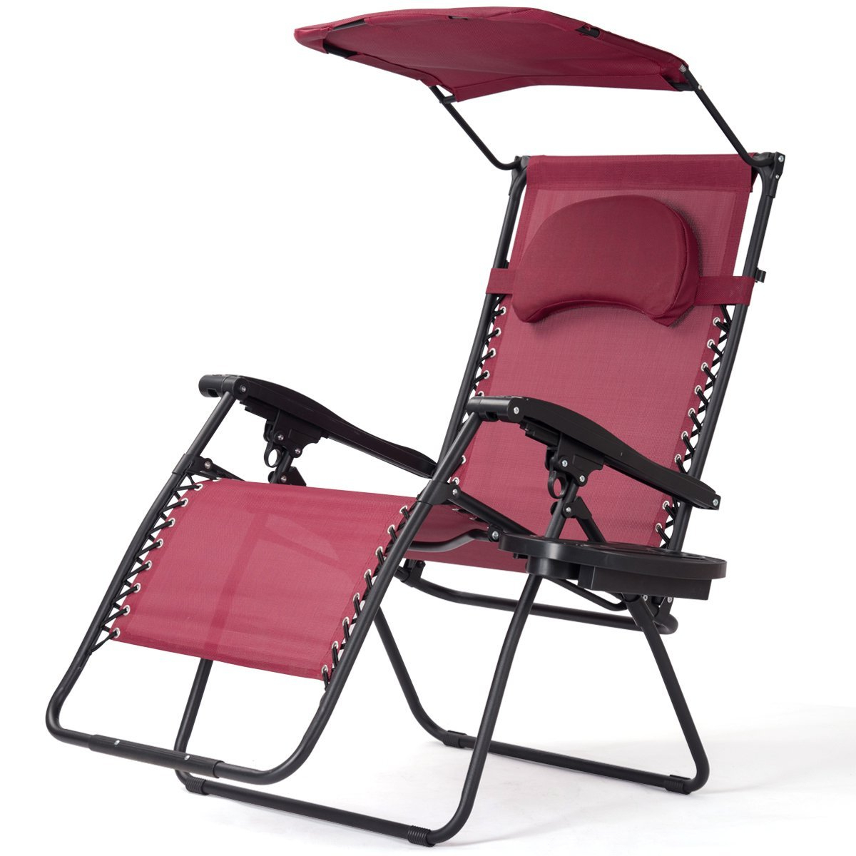 Popular Folding Patio Lounge Beach Chairs With Canopy Inside Cheap Beach Chair Canopy Shade, Find Beach Chair Canopy (View 5 of 25)