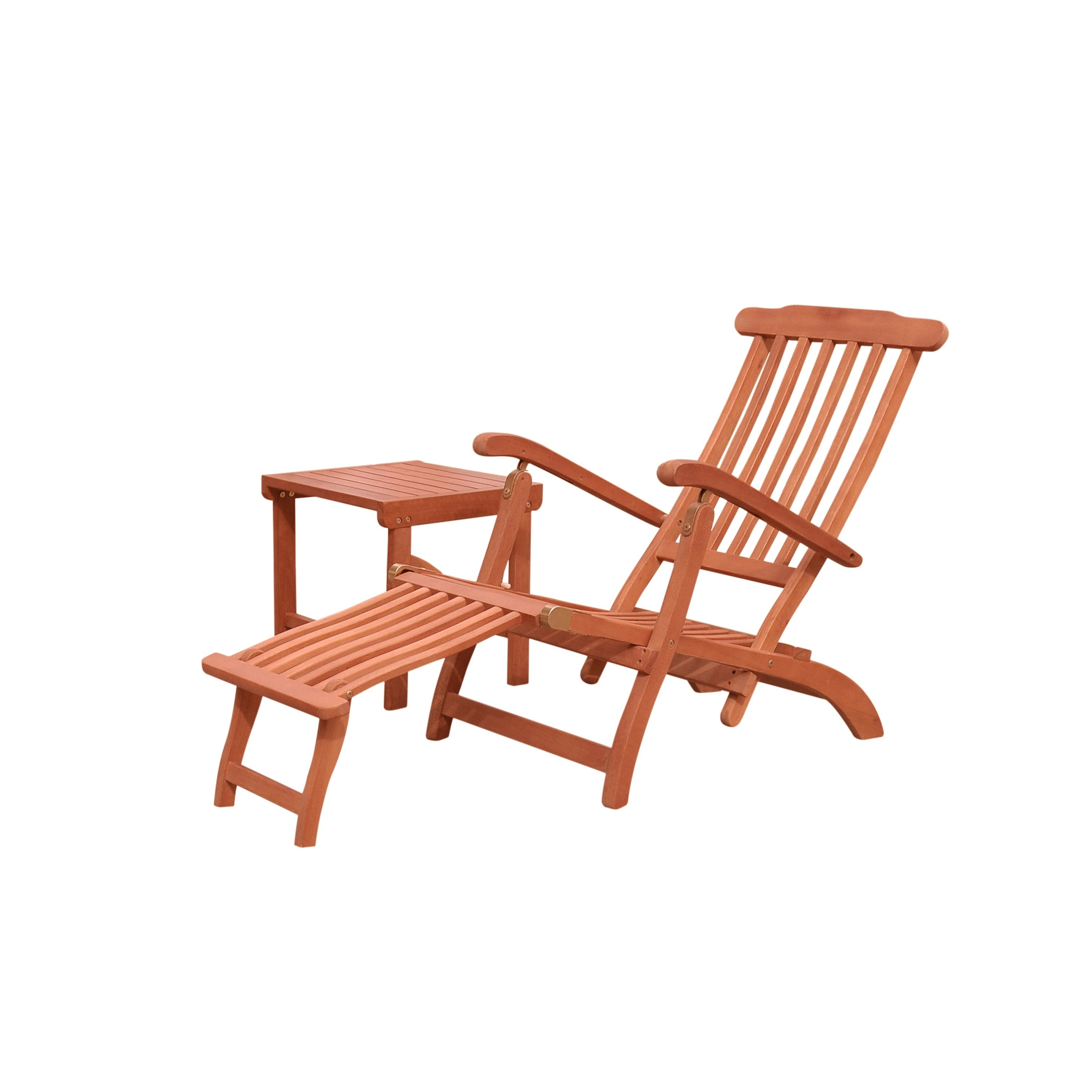 Popular Havenside Home Surfside Outdoor Lounge Chairs With Regard To Havenside Home Surfside Wood Outdoor Patio Chaise Lounge Set (View 15 of 25)
