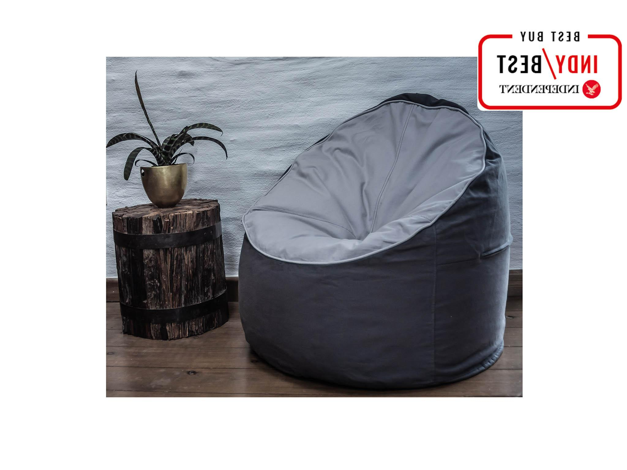Popular Indoor/outdoor Patio Bean Bag Chairs Inside 10 Best Bean Bags (View 20 of 25)
