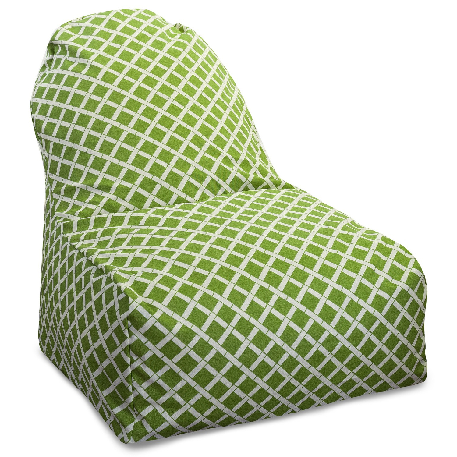 Popular Indoor/outdoor Vertical Stripe Bean Bag Chair Loungers Pertaining To Bamboo Kick It Chair (View 24 of 25)