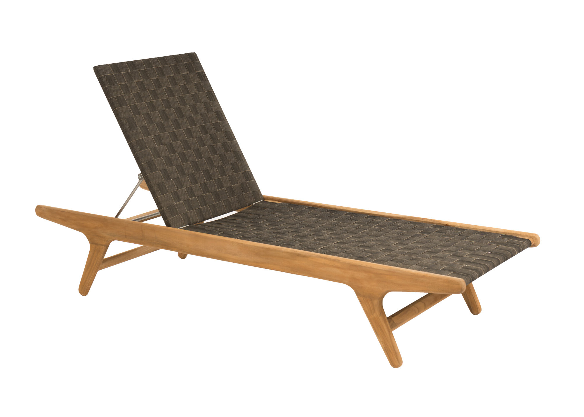 Popular Teak Chaise Loungers Within Staci Reclining Teak Chaise Lounge (Gallery 1 of 25)