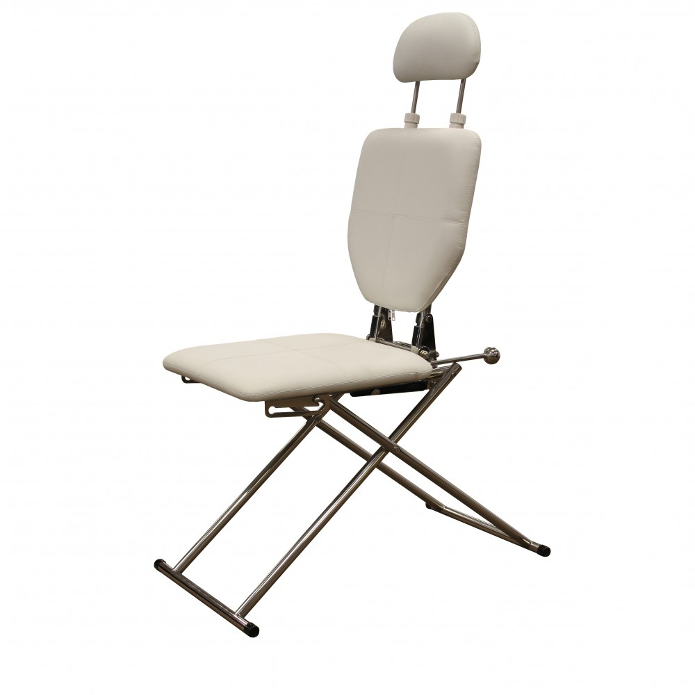 Portable Extendable Folding Reclining Chairs Inside Most Up To Date Mobile Shampoo Facial Chair In White (Gallery 16 of 25)
