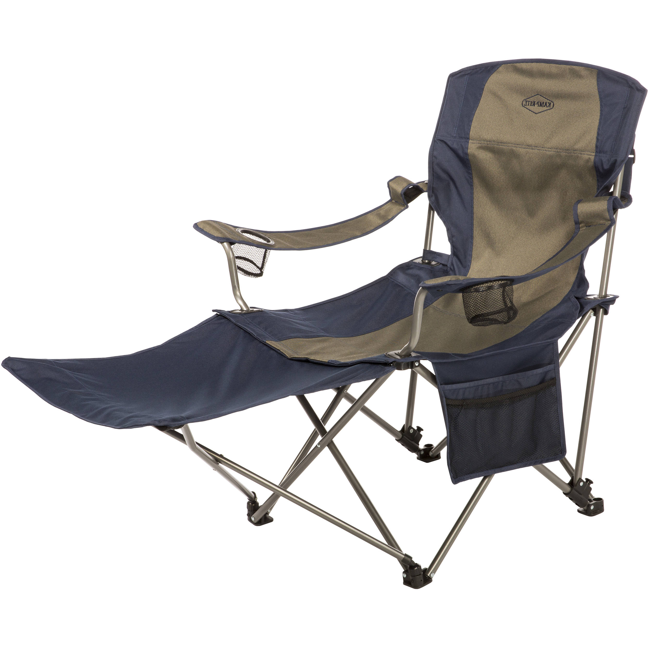 Portable Extendable Folding Reclining Chairs Within Most Popular Kamp Rite Folding Chair With Removable Foot Rest (Gallery 21 of 25)