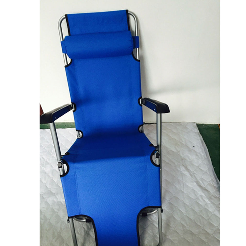 Portable Extendable Outdoor Folding Reclining Chair Dual Purposes Lounge Recliners Home Patio Beach Chair Intended For Most Up To Date Portable Extendable Folding Reclining Chairs (View 2 of 25)