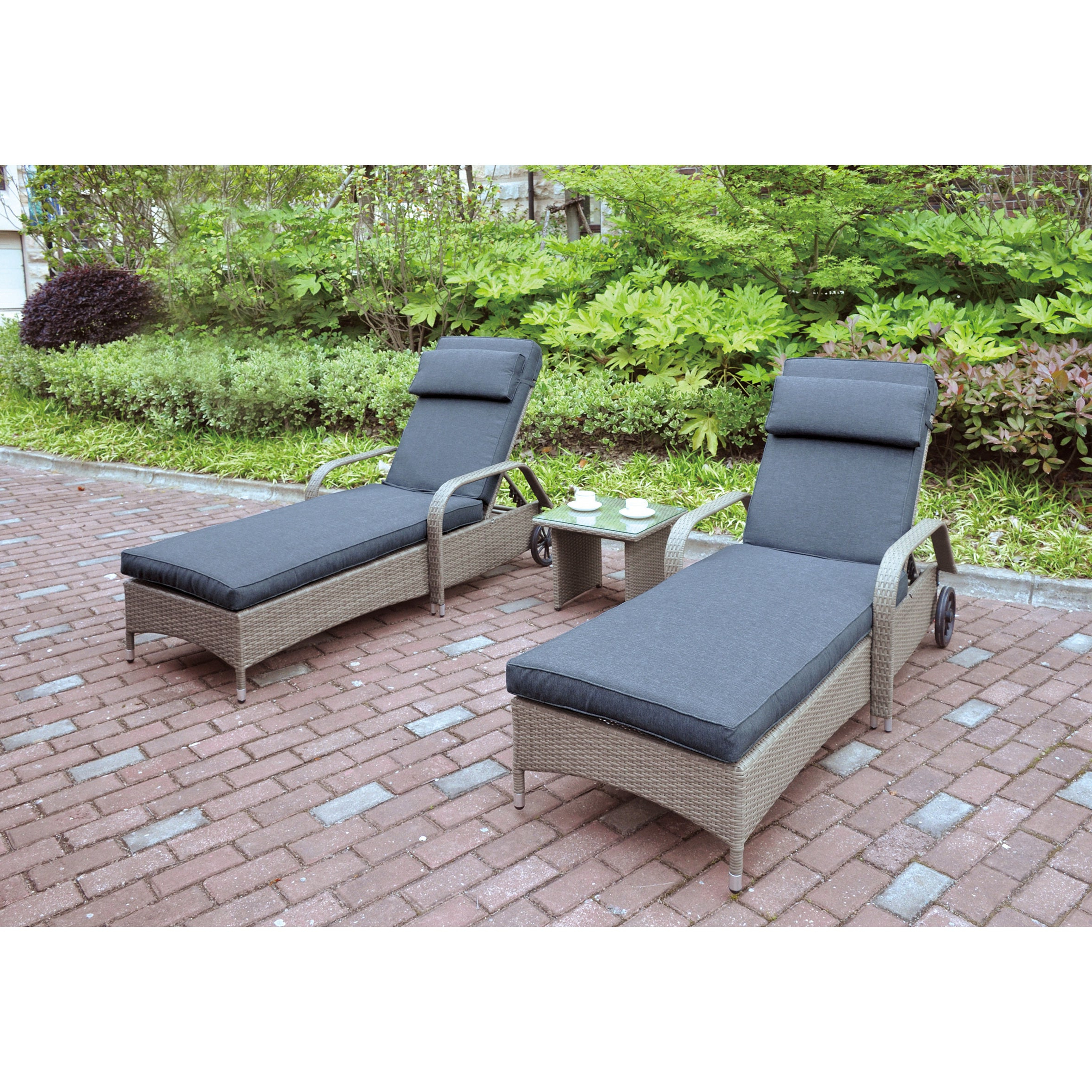 Featured Photo of All-weather Single Outdoor Adjustable Loungers