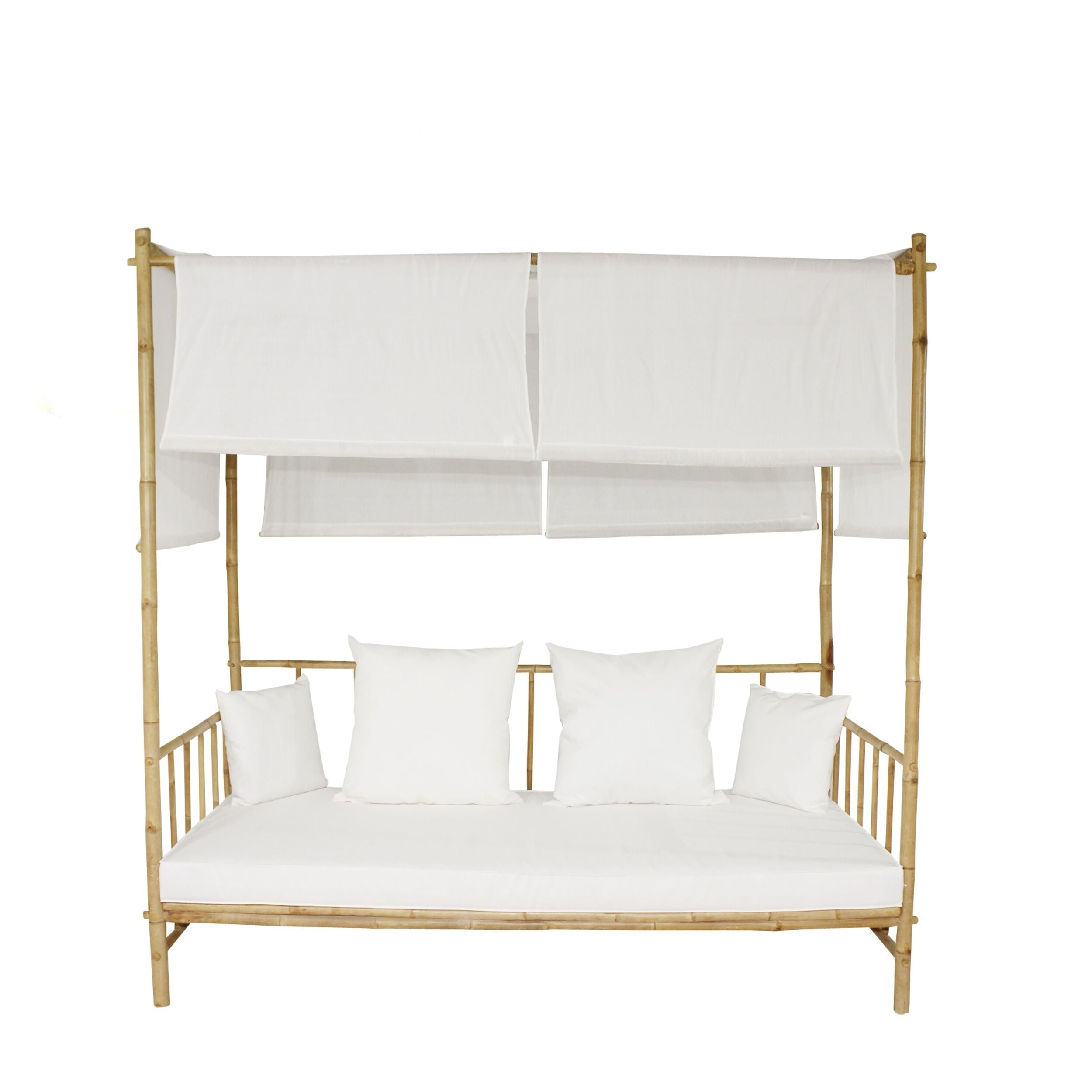 Featured Photo of Bamboo Daybeds with Canopy