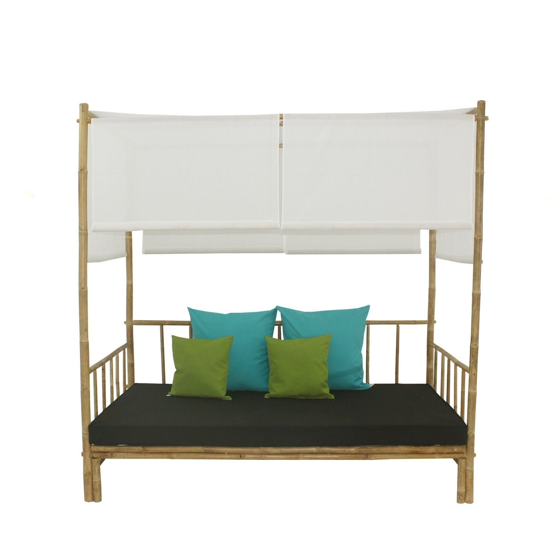 Preferred Bamboo Daybed With Canopy Within Bamboo Daybeds With Canopy (View 5 of 25)