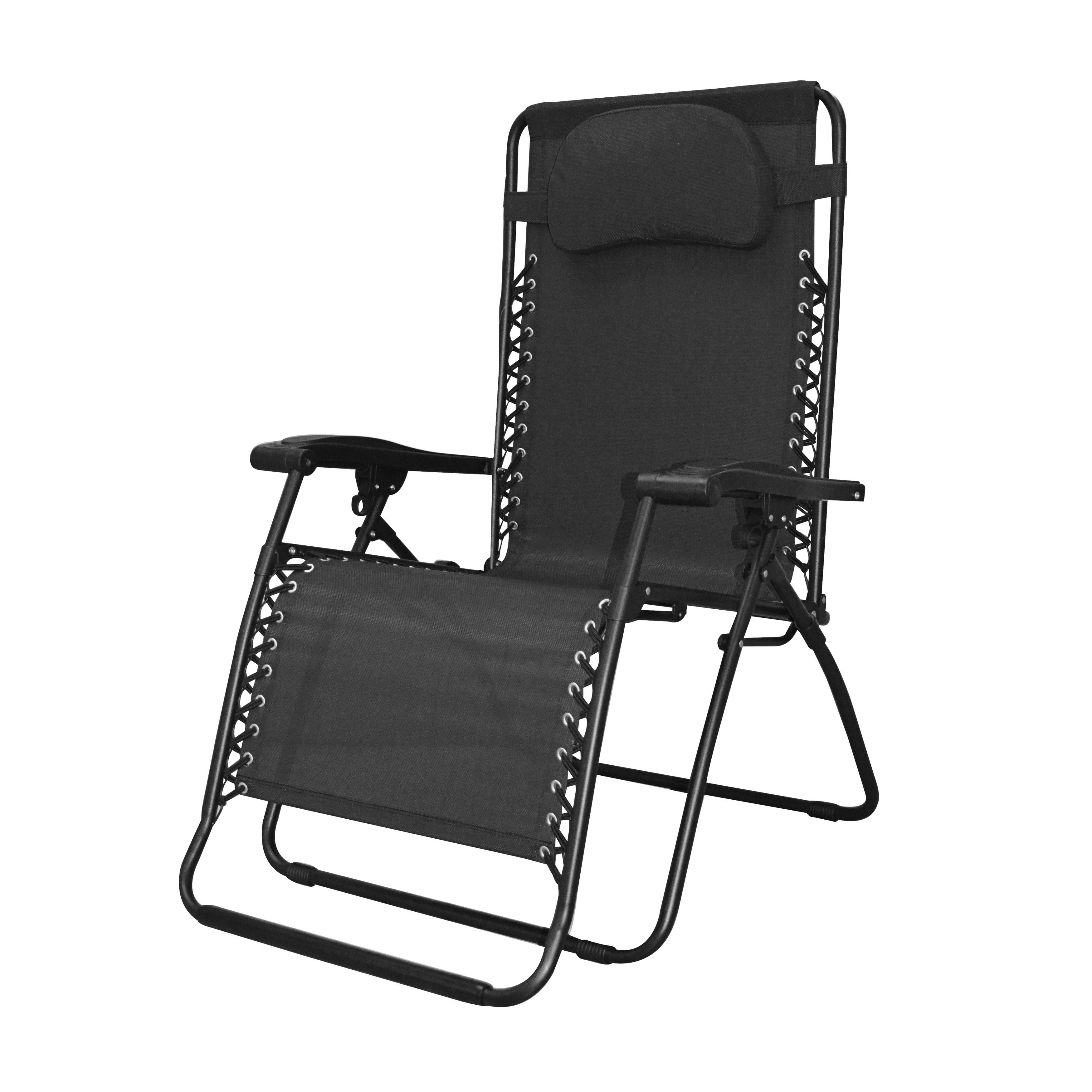 Preferred Caravan Sports Infinity Black Oversized Zero Gravity Chair With Caravan Sports Grey Infinity Chairs (View 10 of 25)