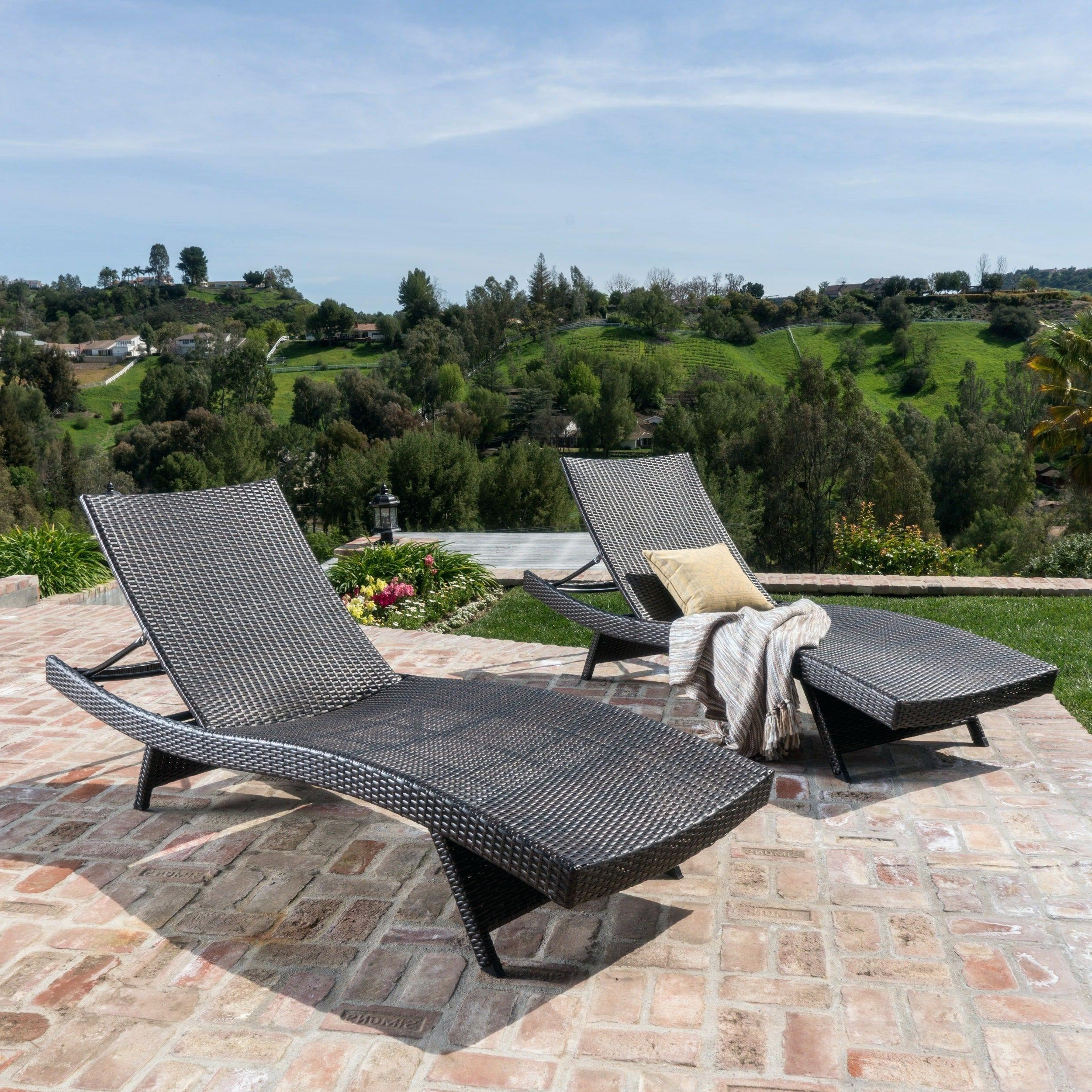 Preferred Chaise Lounge Patio Lowes Patio Chaise Lounge Chairs Chaise In Cosco Outdoor Aluminum Chaise Lounge Chairs (Gallery 8 of 25)