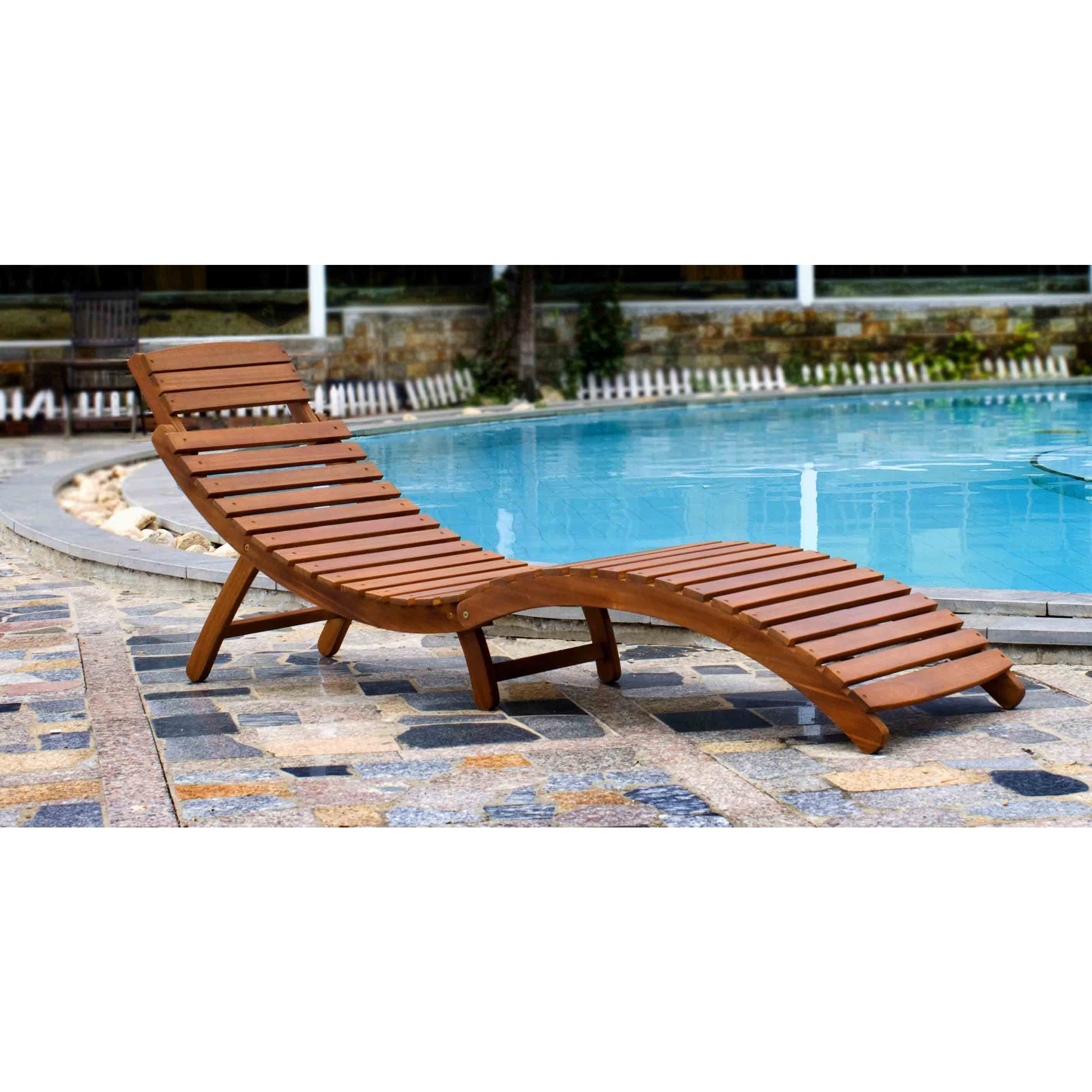 Preferred Curved Folding Chaise Loungers Regarding Shop Merry Products Curved Folding Chaise Lounger – Free (View 1 of 25)
