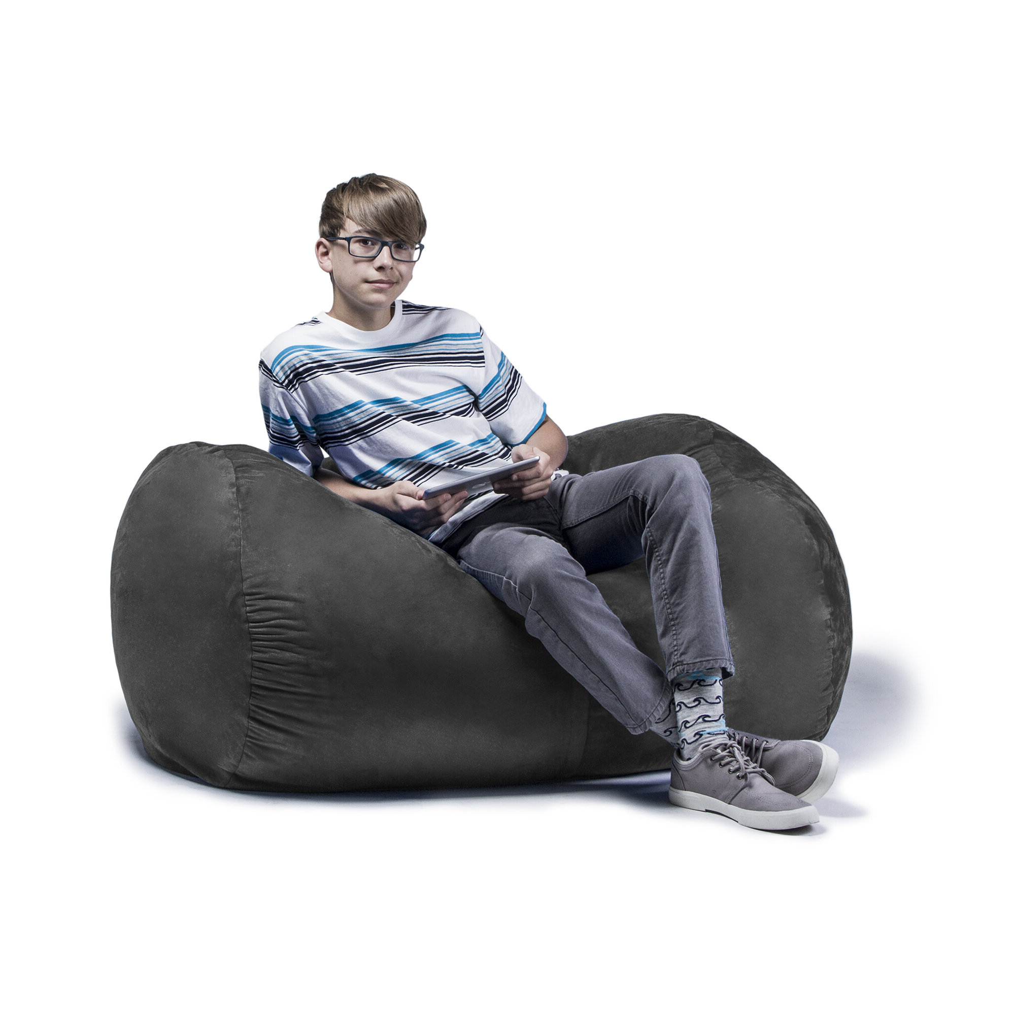Preferred Jaxx Ponce Outdoor Bean Bag Patio Chairs Pertaining To Jaxx Jr. Bean Bag Lounger (Gallery 23 of 25)