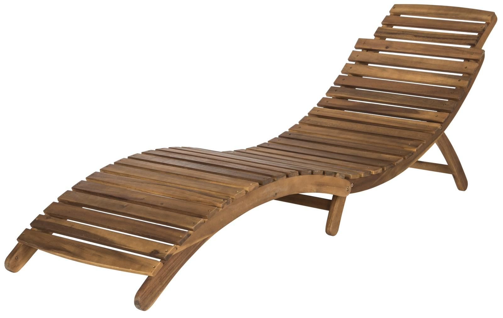 Preferred Pat7020C Outdoor Chaise Loungers – Furnituresafavieh In Outdoor 3 Piece Acacia Wood Chaise Lounge Sets (View 24 of 25)