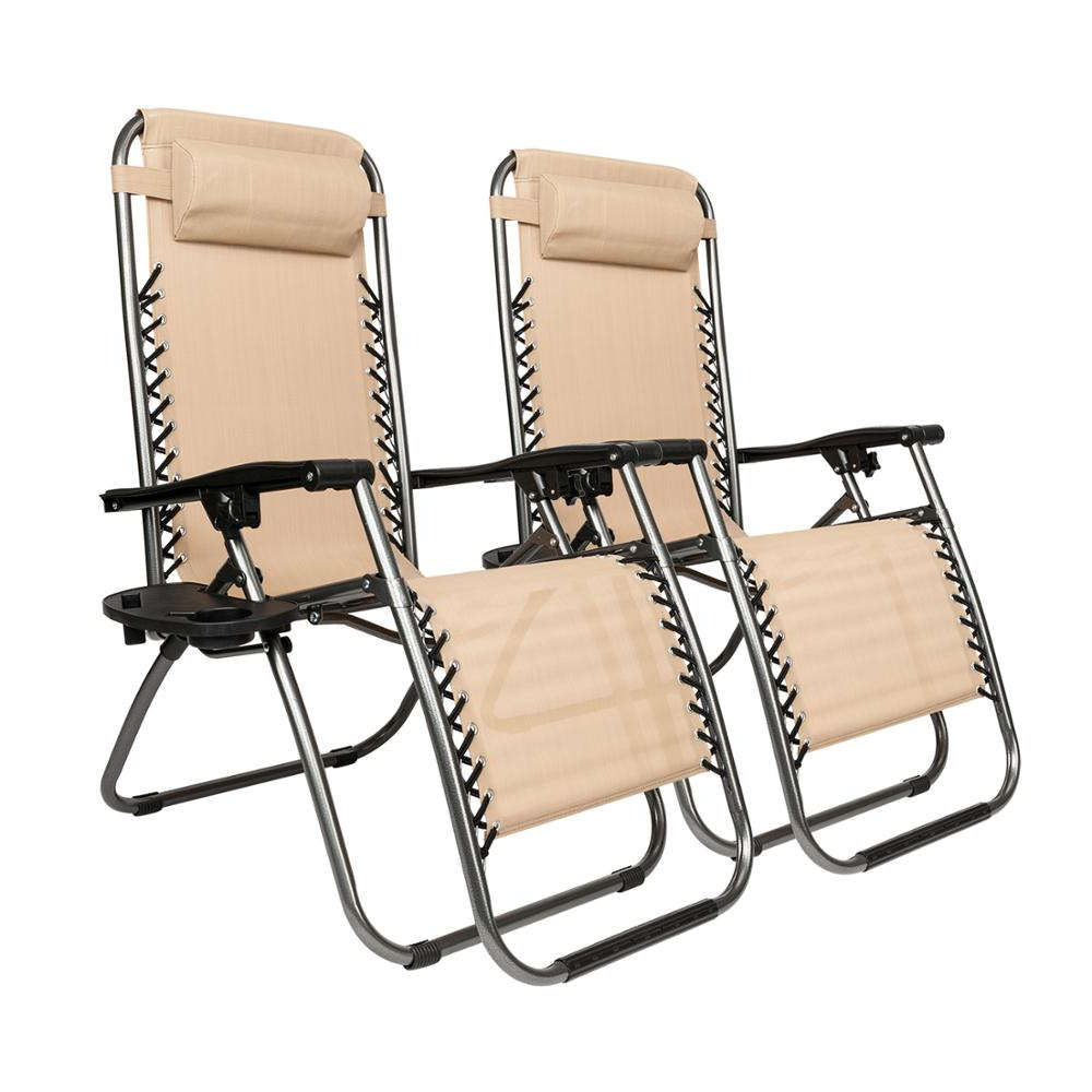 Preferred Plum Blossom Lock Portable Saucer Khaki Folding Chairs Inside Us $79.99 (Gallery 2 of 25)