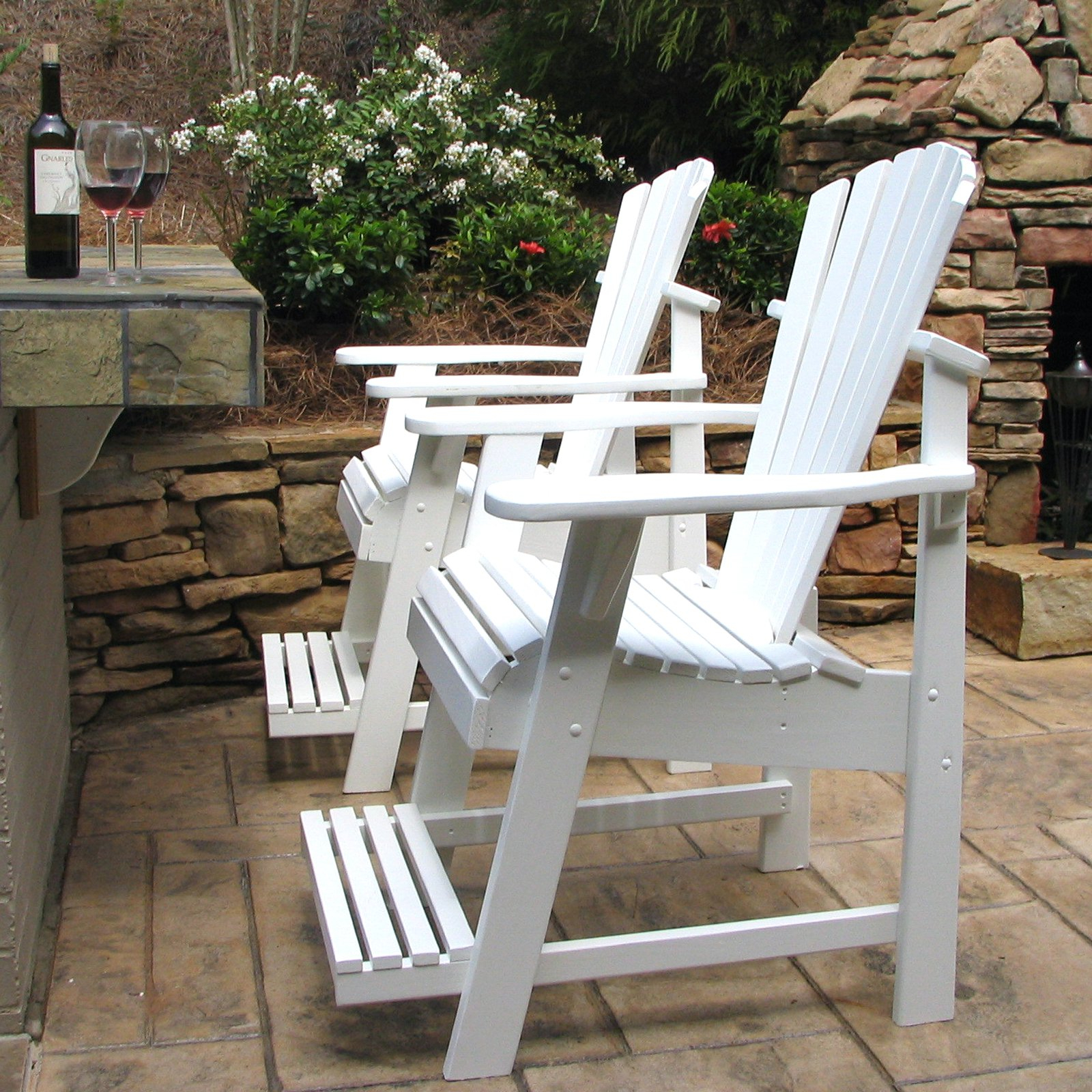 Preferred Weathercraft Designers Choice Painted Balcony Adirondack Chair With Footrest For Adirondack Chairs With Footrest (View 22 of 25)