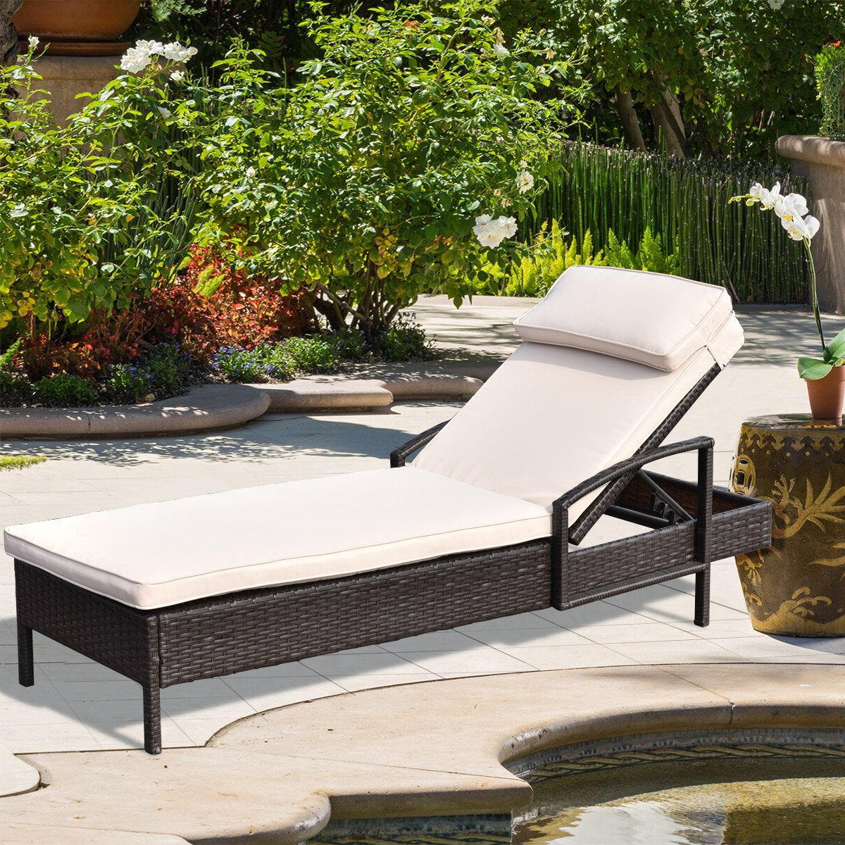 Rakuten Pertaining To Well Known All Weather Rattan Wicker Chaise Lounges (View 24 of 25)
