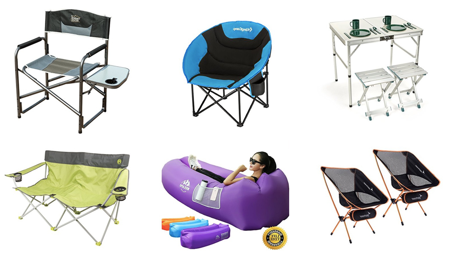 Recent 11 Best Camping Chairs For Festivals 2018 (Updated!) (Gallery 25 of 25)