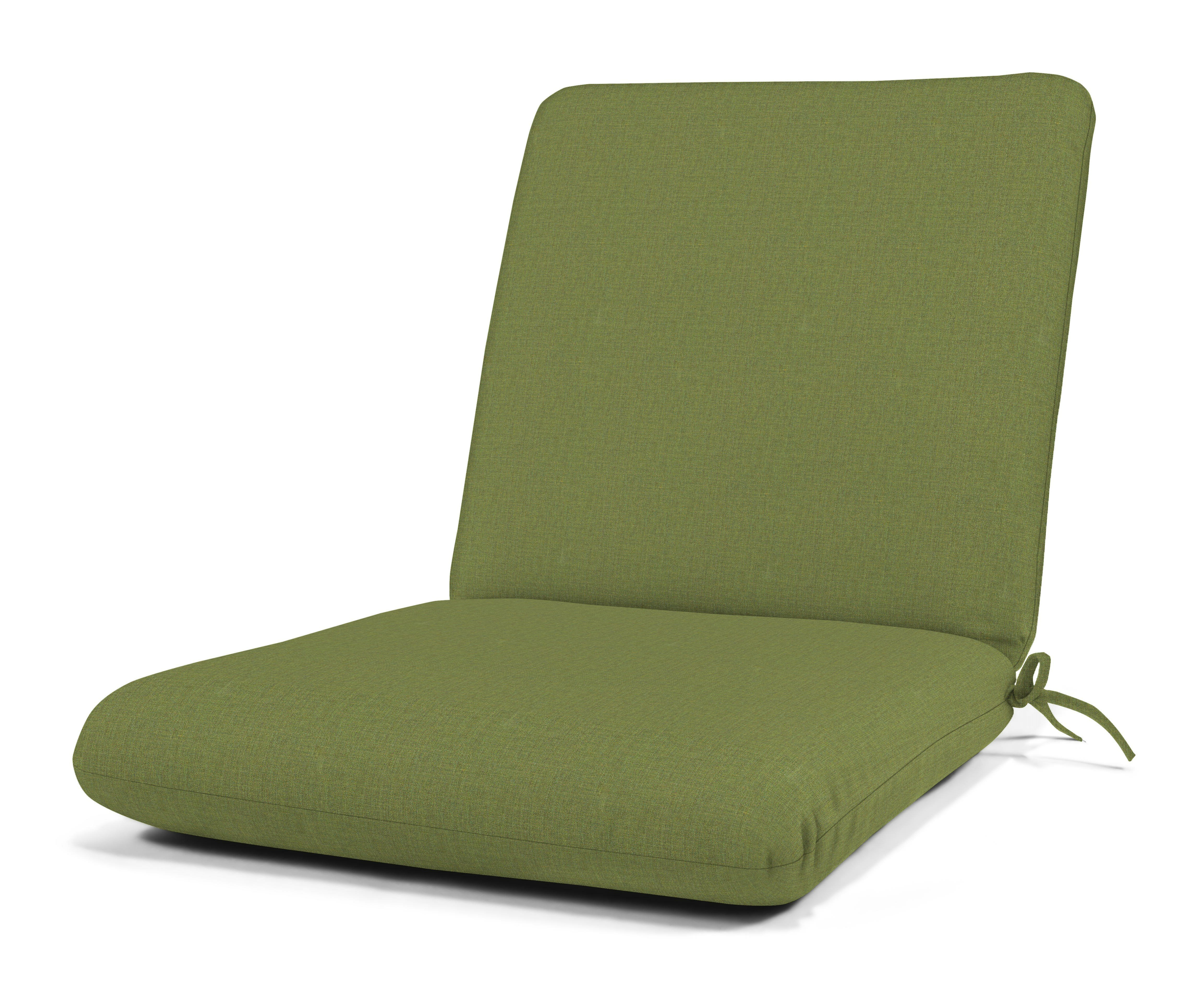 Recent Indoor Outdoor Textured Bright Chaise Lounges With Sunbrella Fabric Regarding Indoor/outdoor Sunbrella Club Chair Cushion (View 8 of 25)