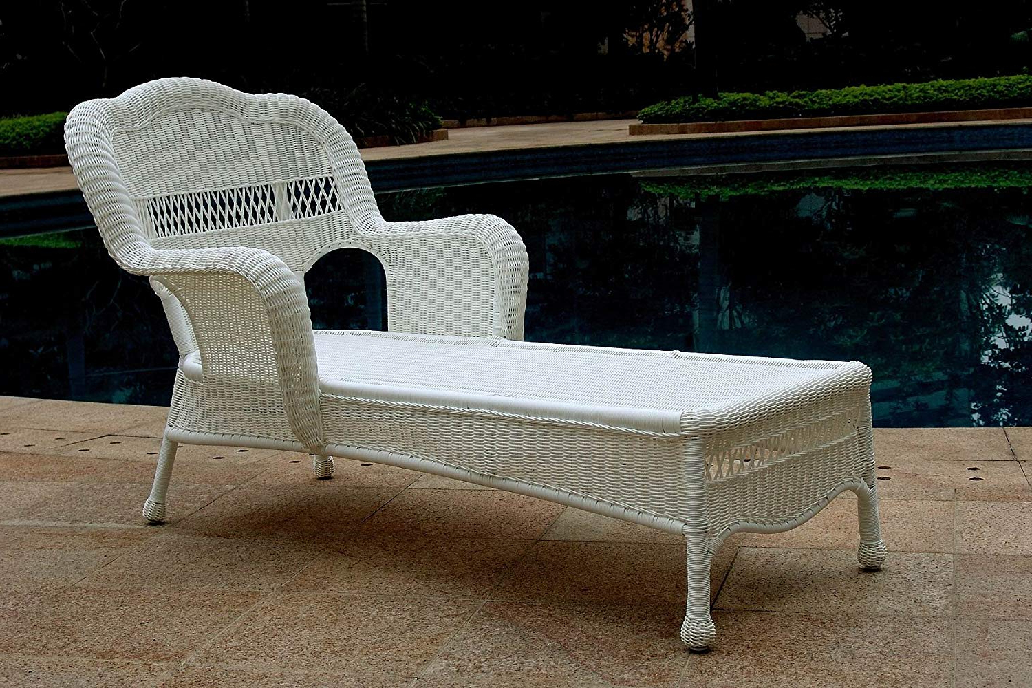 Resin Wicker Multi Position Double Patio Chaise Lounges Pertaining To Most Recently Released Cheap White Resin Chaise Lounge, Find White Resin Chaise (View 12 of 25)