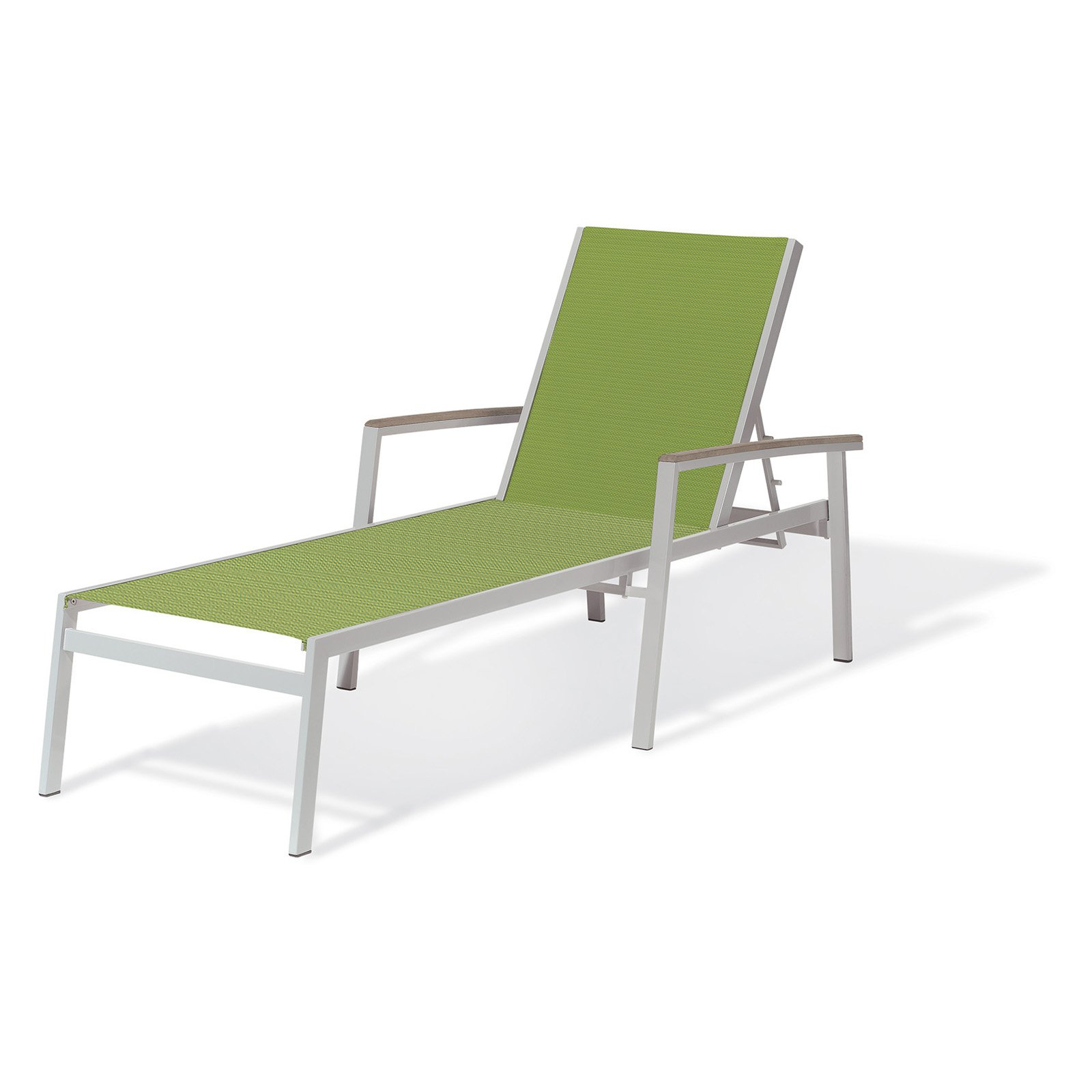 Shore Aluminum Outdoor Chaise Lounges Pertaining To Fashionable Oxford Garden Travira Aluminum Outdoor Chaise Lounge Go (View 16 of 25)