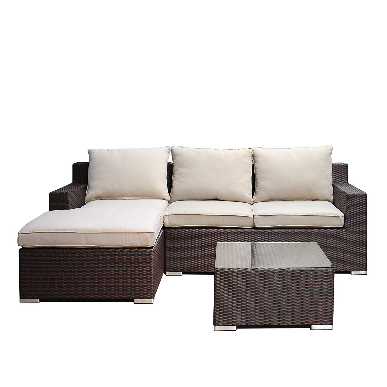 Shore Alumunium Outdoor 3 Piece Chaise Lounger Sets Throughout Widely Used Cheap Cream Lounge Furniture, Find Cream Lounge Furniture (View 20 of 25)