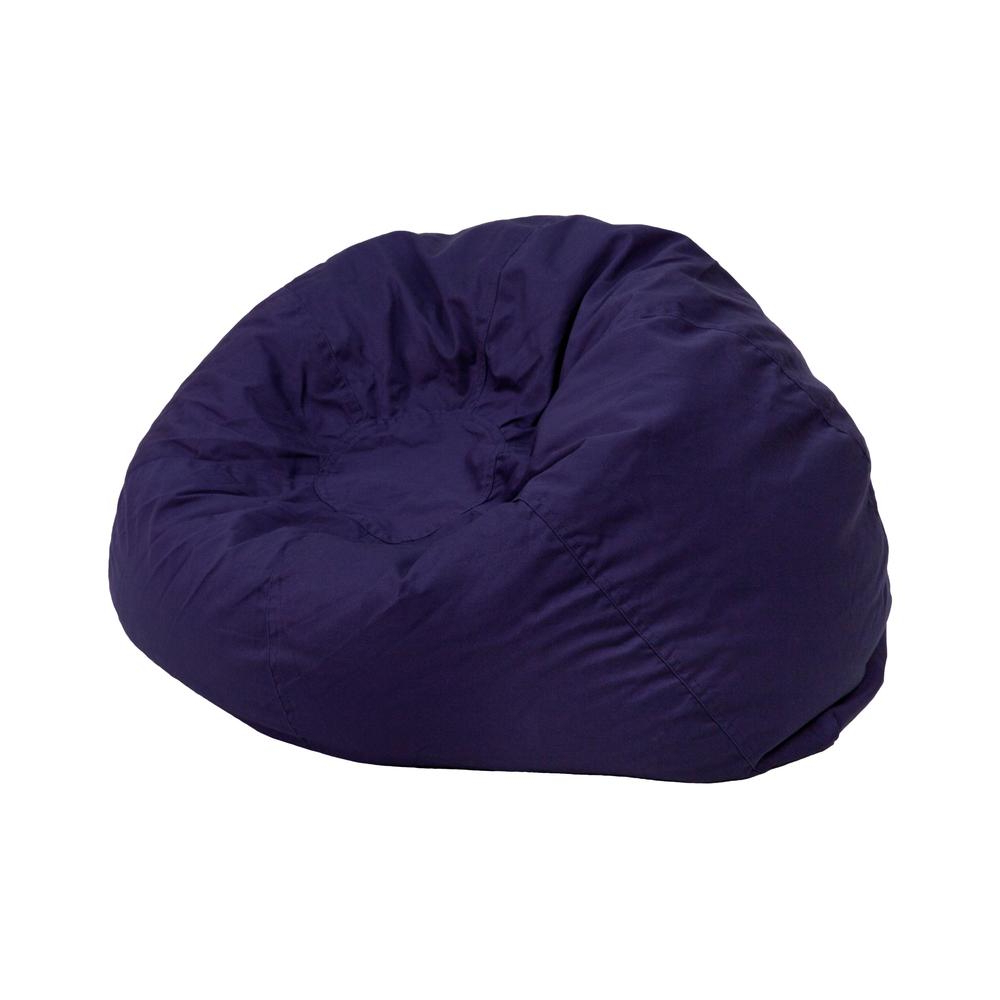 Small Solid Navy Blue Kids Bean Bag Chairalamont Intended For Most Up To Date Jaxx Twist Outdoor Patio Bean Bag Chairs (View 25 of 25)