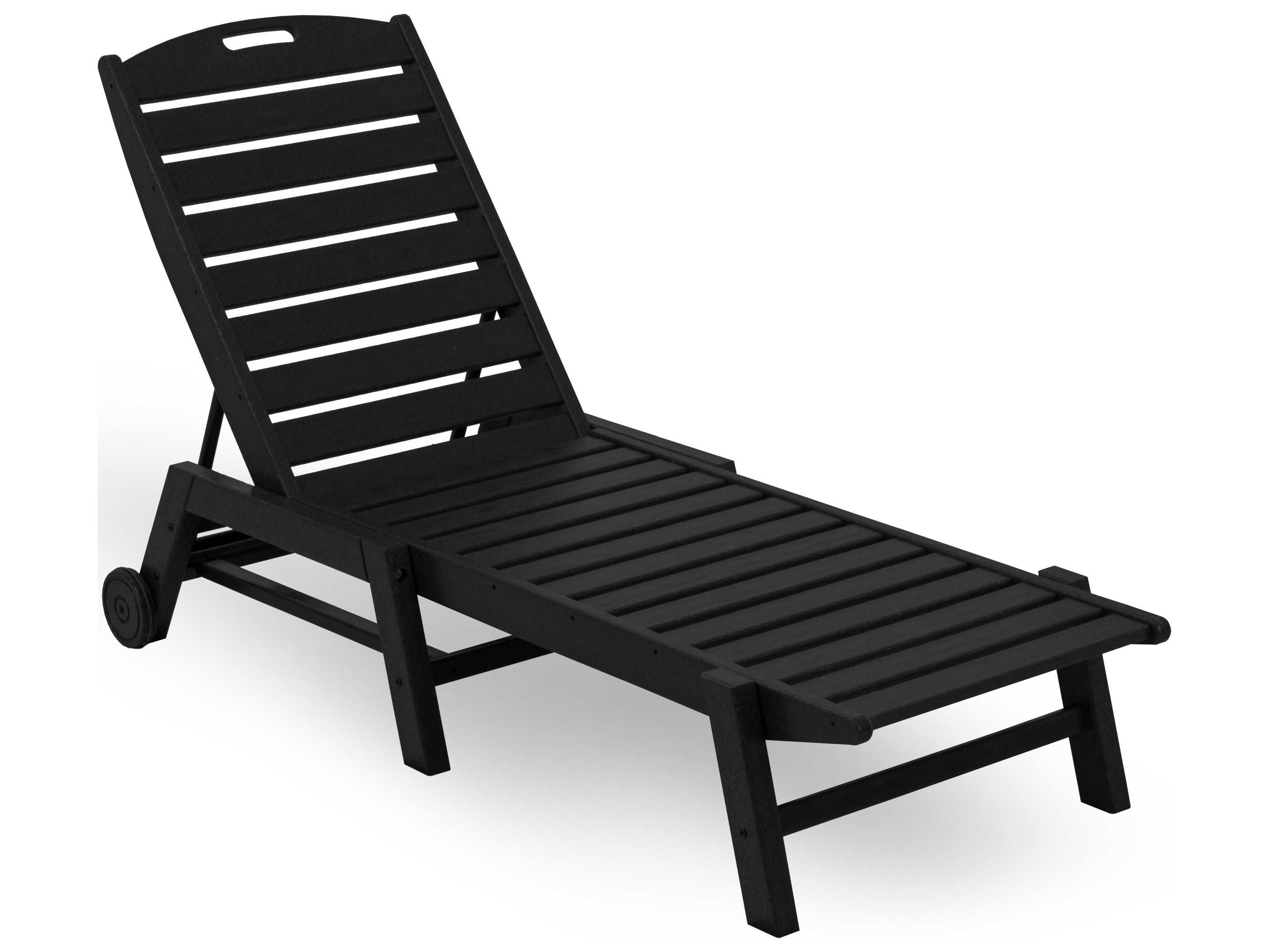 Stackable Nautical Outdoor Chaise Lounges In Favorite Polywood® Nautical Recycled Plastic Stackable Chaise Lounge (View 6 of 25)