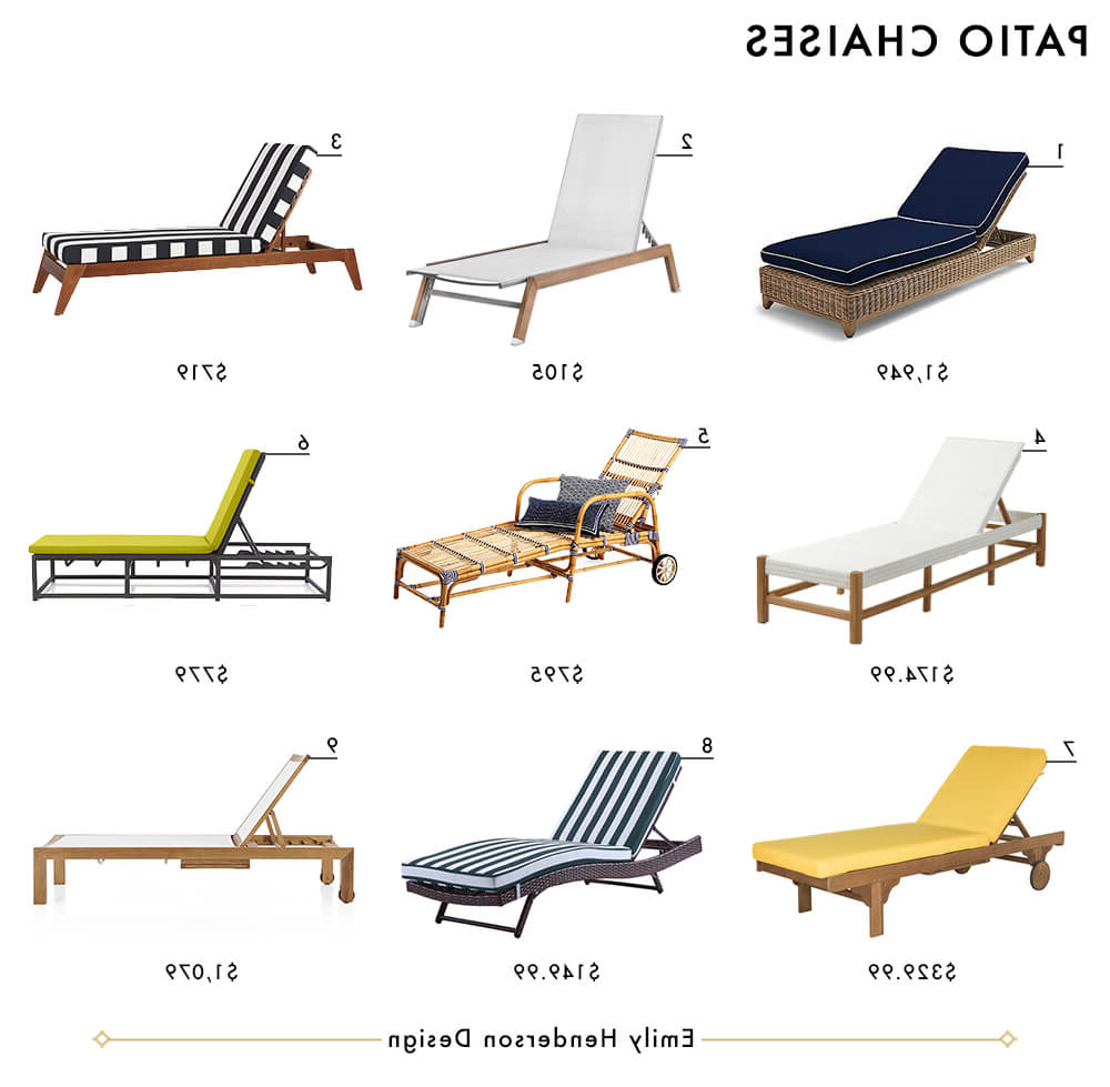 Striped Outdoor Chaises With Umbrella Regarding Current My Ultimate Patio Furniture Roundup – Emily Henderson (View 12 of 25)