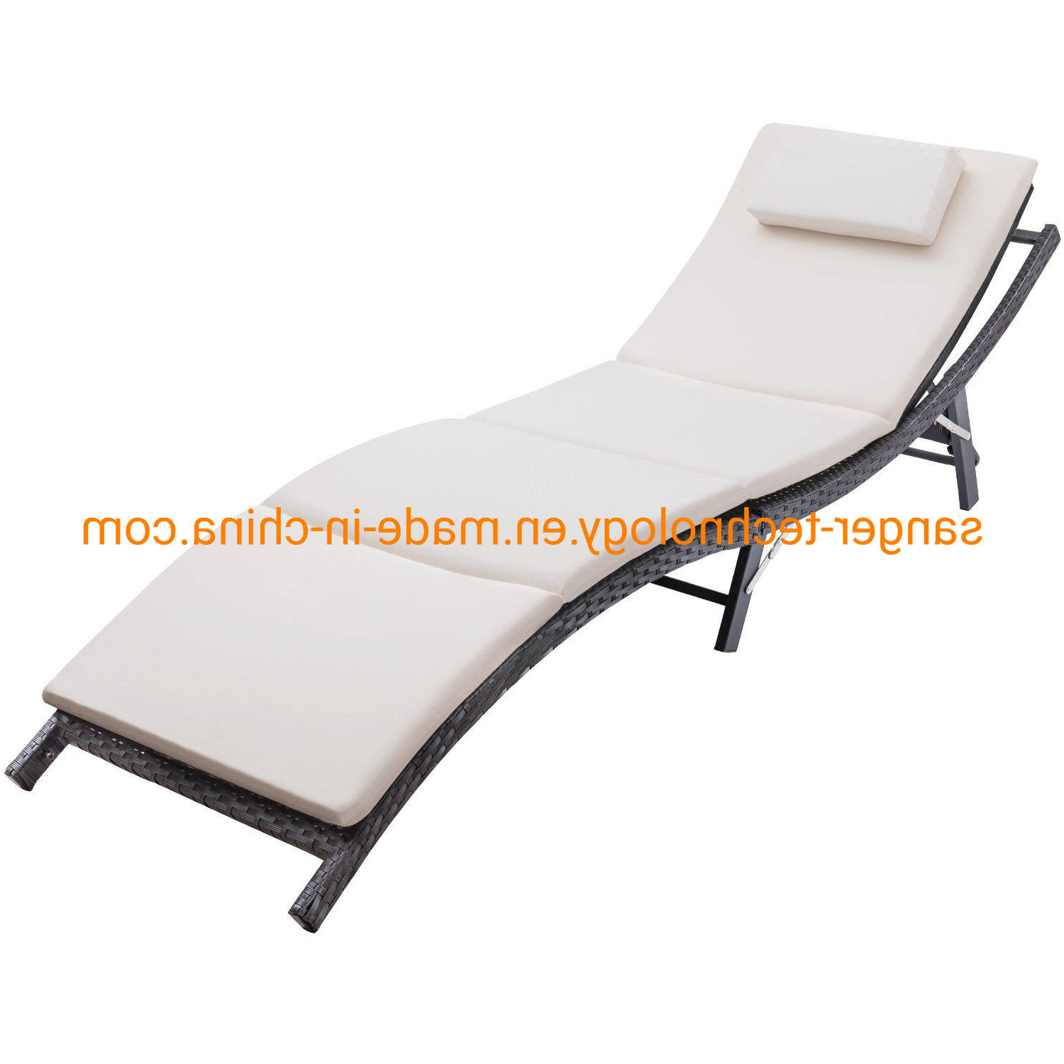 Stunning Patio Outdoor Chaise Lounge Cushions Cushion Modern Within Well Known Outdoor Wicker Adjustable Chaise Lounges With Cushions (View 22 of 25)