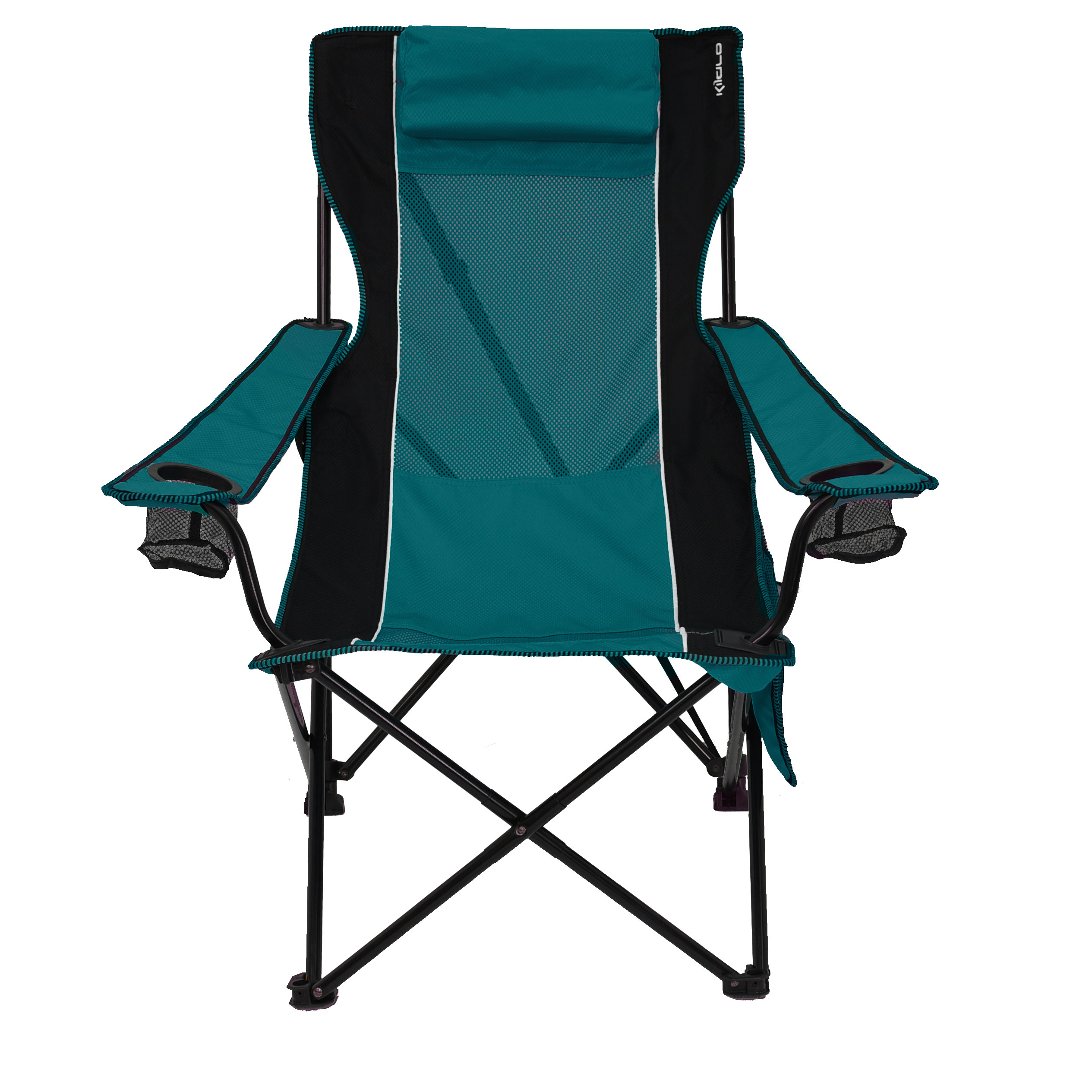 Sunset Patio Sling Folding Chairs With Headrest Regarding Fashionable Sling Chair (View 12 of 25)