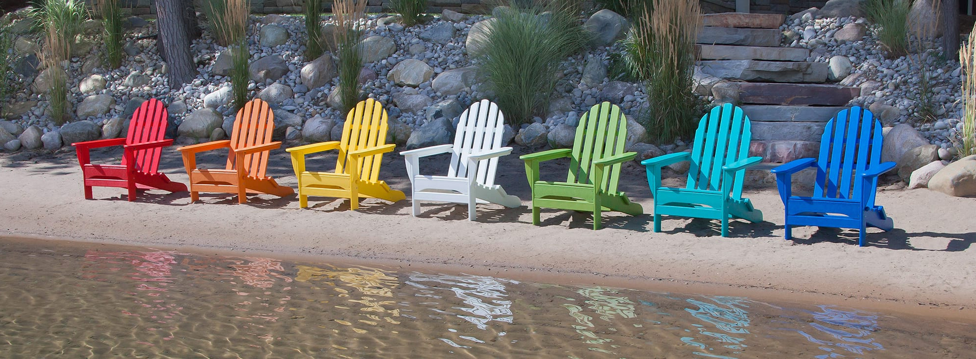 Sunset Patio Sling Folding Chairs With Headrest Throughout Well Known Adirondack Chairs (View 19 of 25)