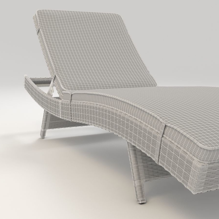 Trendy Adjustable Chair Lounge Furniture Rattan Outdoor Pertaining To Adjustable Outdoor Wicker Chaise Lounge Chairs With Cushion (View 22 of 25)