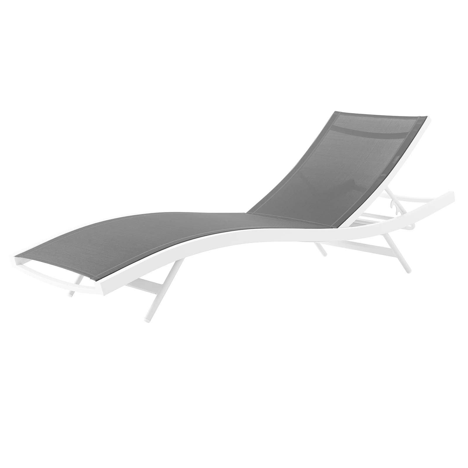 Featured Photo of Glimpse Outdoor Patio Mesh Chaise Lounge Chairs