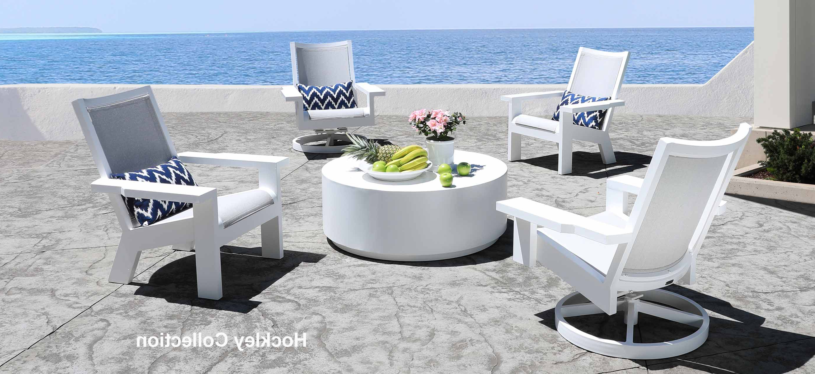 Trendy Indoor Outdoor Textured Bright Chaise Lounges With Sunbrella Fabric With Shop Patio Furniture At Cabanacoast® (View 24 of 25)