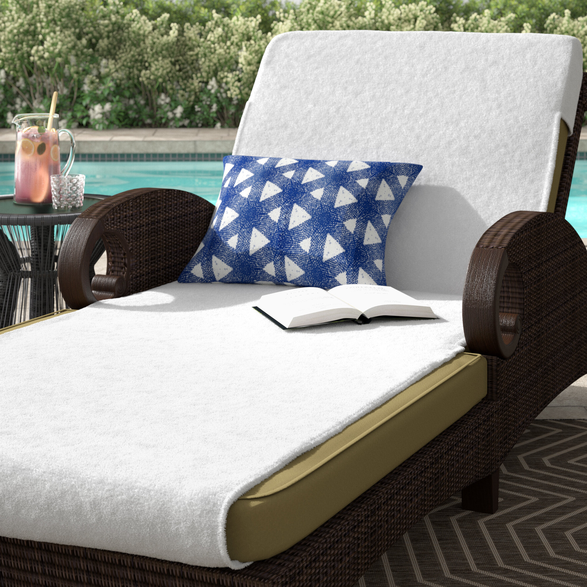 Trendy Jamaica Outdoor Chaise Lounges Intended For Patio Chaise Lounge Cover (View 23 of 25)