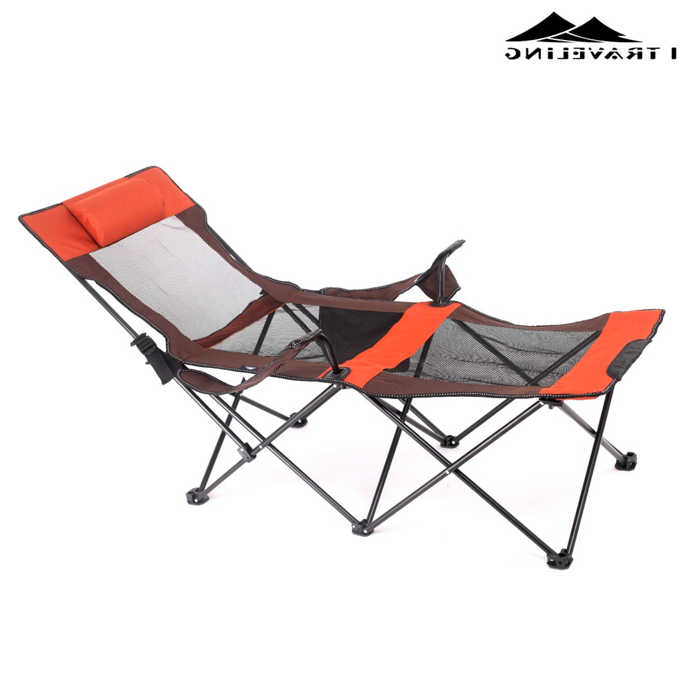 [%Us $52.25 15% Off 15% Aluminum Folding Beach Chair Elevated Bed Portable  Outdoor/patio Furniture Heavy Duty Lounge For Camping Breathable  Material In Pertaining To Newest Foldable Camping And Lounge Chairs Foldable Camping And Lounge Chairs In Well Known Us $52.25 15% Off 15% Aluminum Folding Beach Chair Elevated Bed Portable  Outdoor/patio Furniture Heavy Duty Lounge For Camping Breathable  Material In Current Foldable Camping And Lounge Chairs Pertaining To Us $52.25 15% Off 15% Aluminum Folding Beach Chair Elevated Bed Portable  Outdoor/patio Furniture Heavy Duty Lounge For Camping Breathable  Material In Best And Newest Us $ (View 1 of 25)