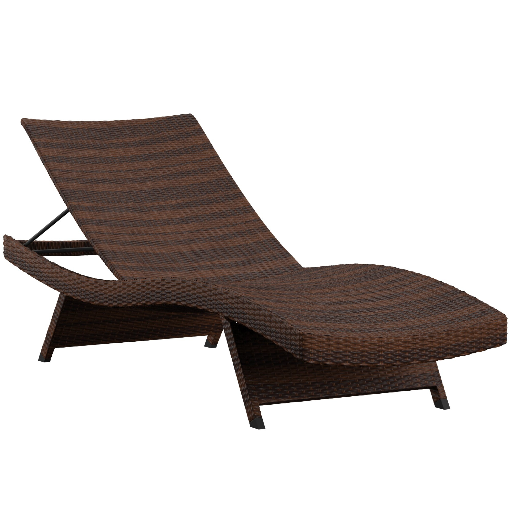 Wayfair For Eucalyptus Teak Finish Outdoor Chaise Loungers With Cushion (View 12 of 25)