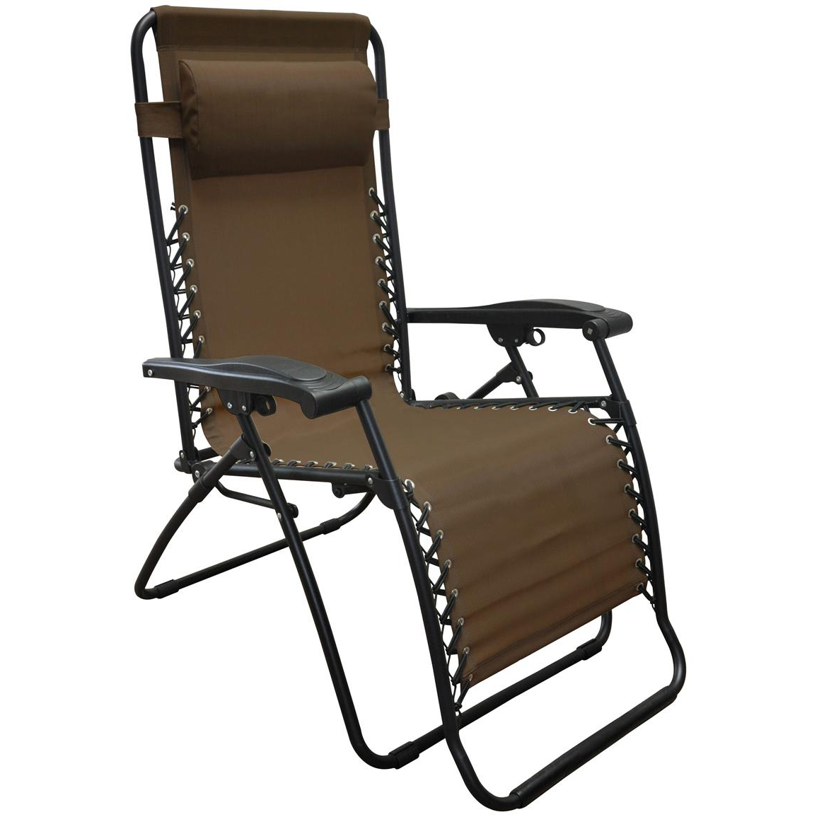 Well Known Caravan Sports Grey Infinity Chairs With Caravan Sports Infinity Oversized Zero Gravity Reclining Lounge Chair, 330 Lb (View 3 of 25)