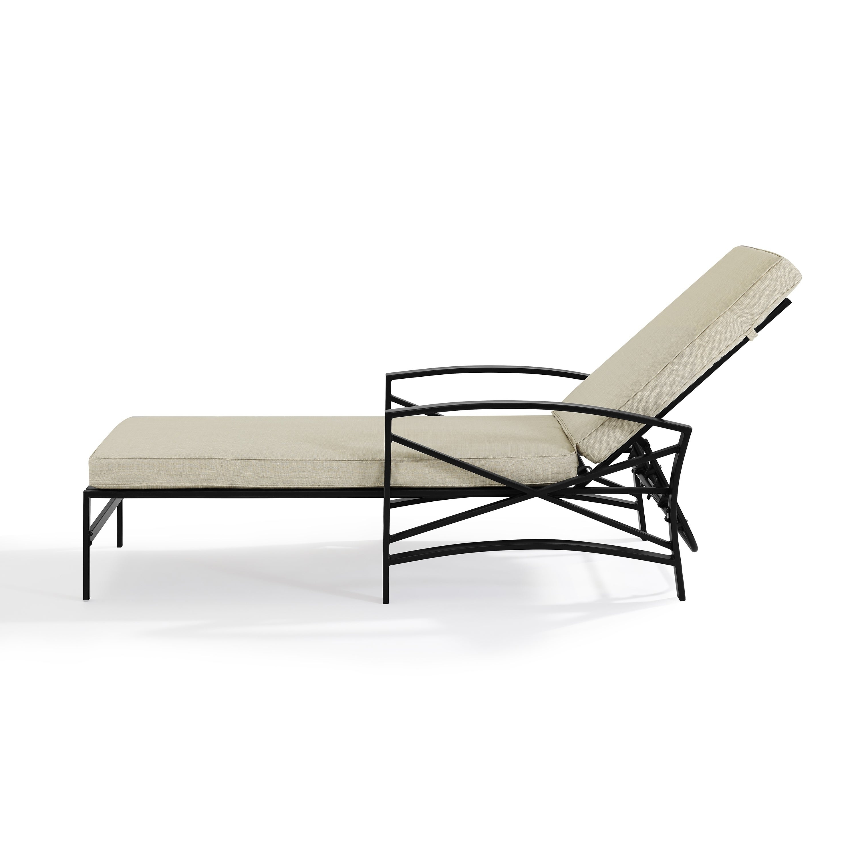 Well Known Chaise Lounge Chairs In Bronze With Oatmeal Cushions For Kaplan Chaise Lounge Chair In Bronze With Oatmeal Cushion (Gallery 2 of 25)