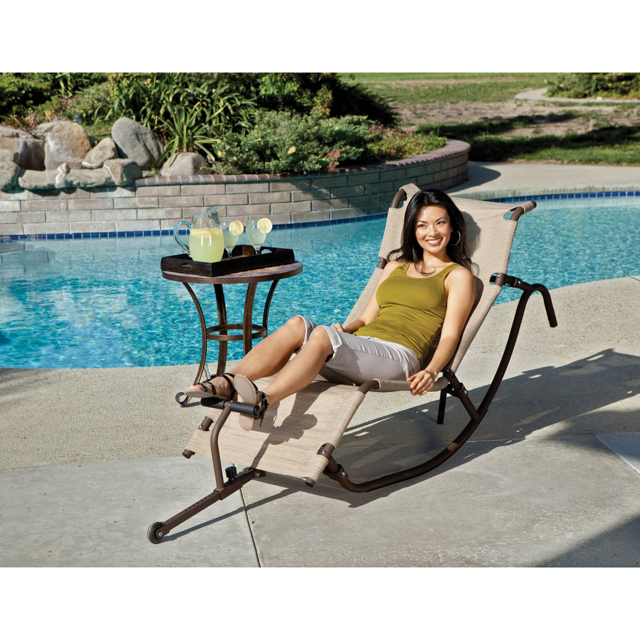 Well Known Easy Outdoor Rocking Lounge Chair For Orbital Patio Lounger Rocking Chairs (Gallery 25 of 25)