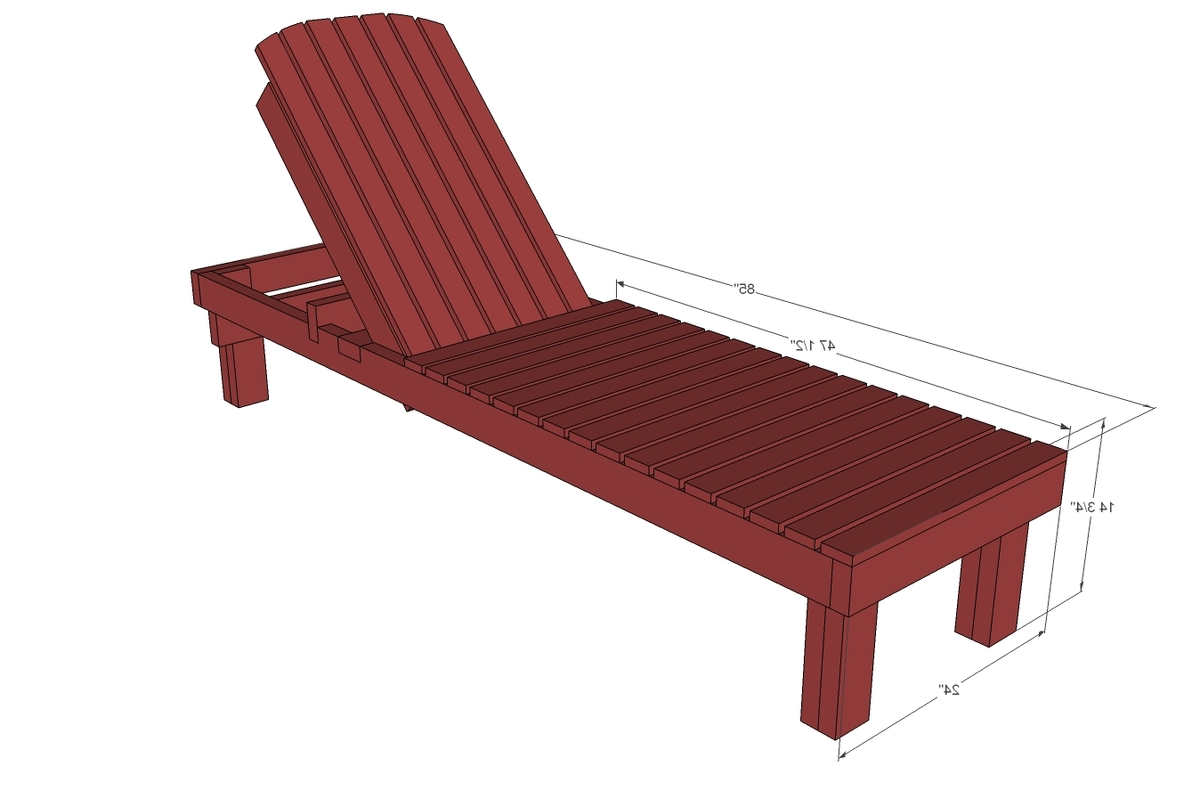 Well Known Favorite Wood Chaise Lounges (Gallery 13 of 25)