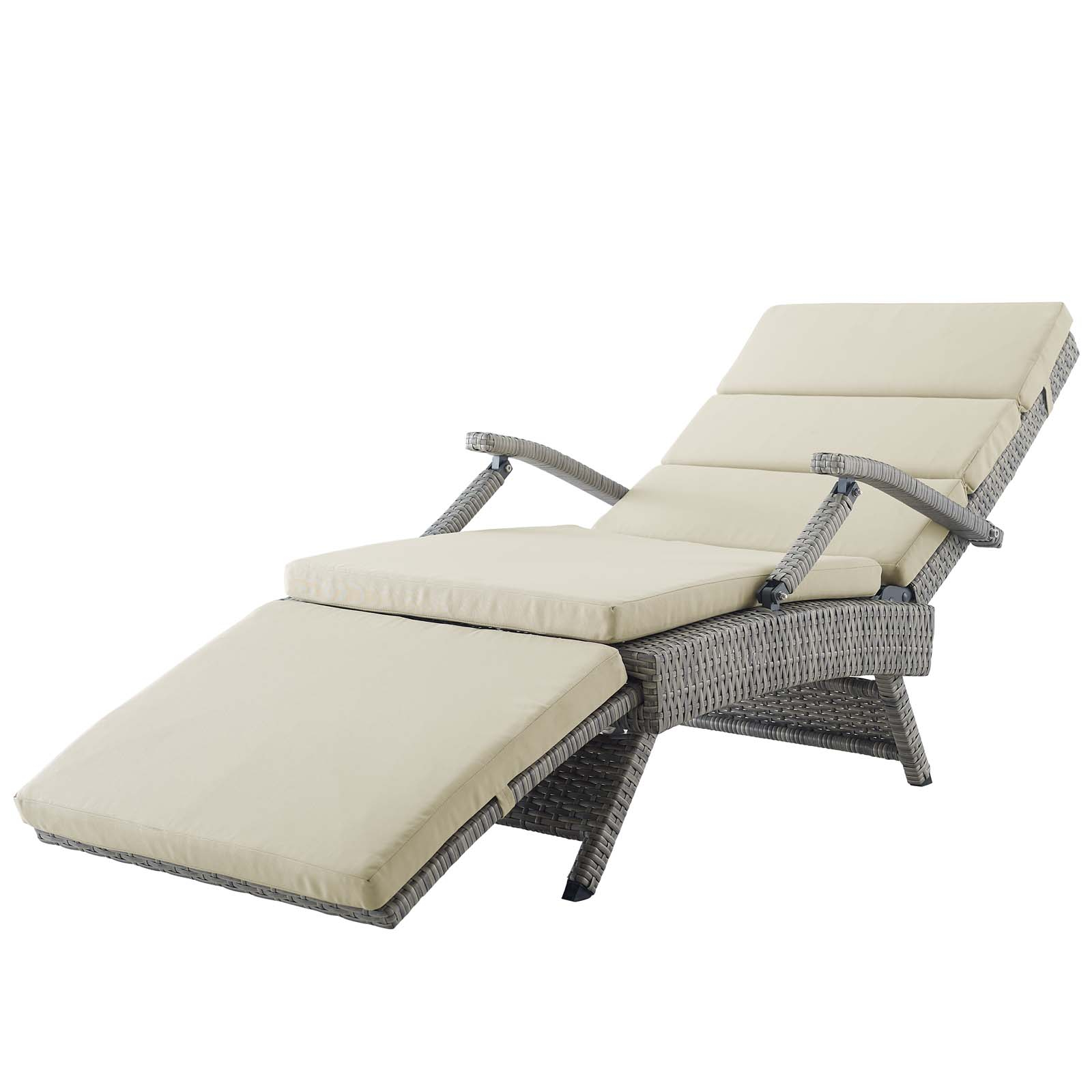 Well Known Glimpse Outdoor Patio Mesh Chaise Lounge Chairs Within Lounge Chairs (View 11 of 25)