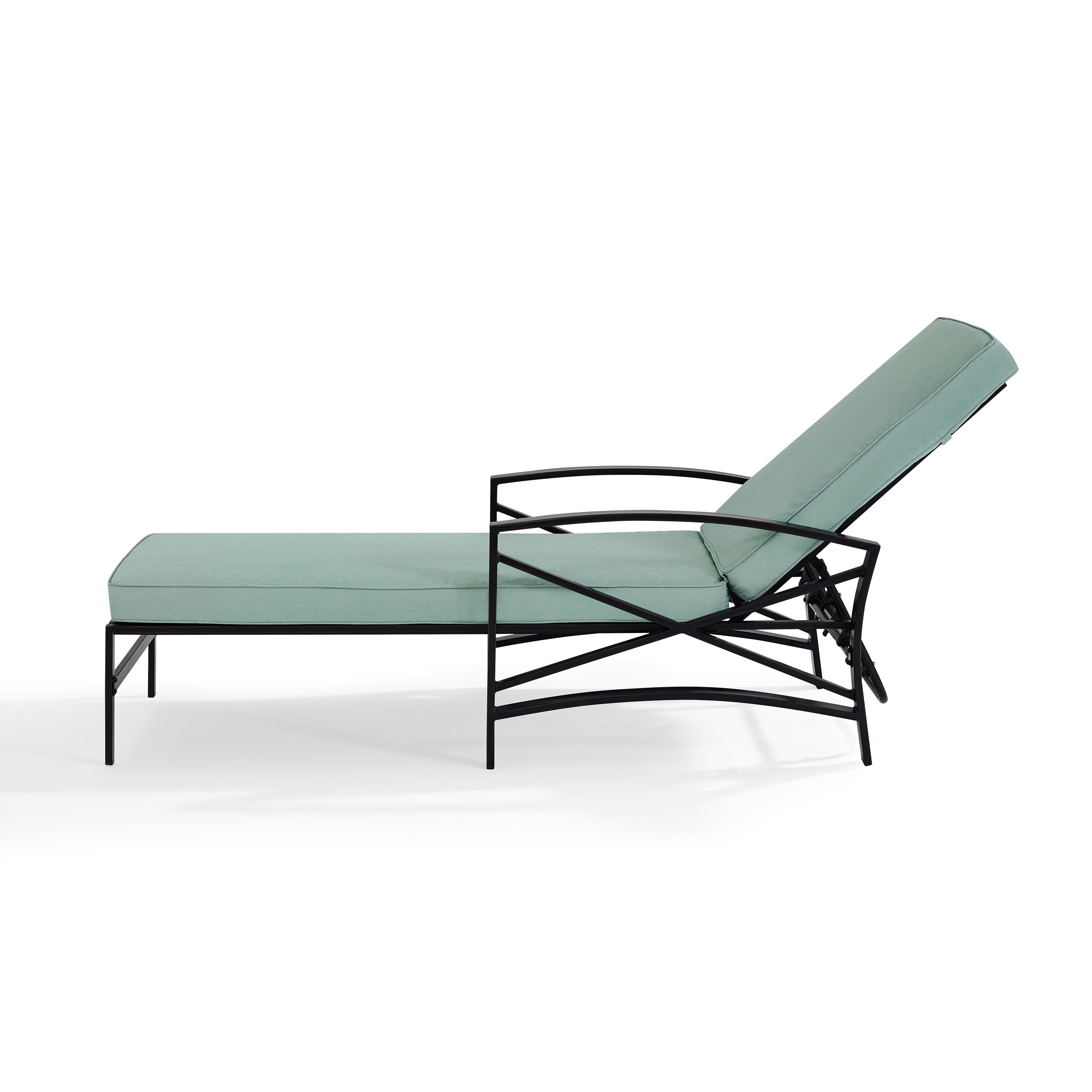 Well Known Havenside Home Davis Chaise Lounge Chair In Bronze With Mist Cushions Within Chaise Lounge Chairs In Bronze With Mist Cushions (Gallery 4 of 25)