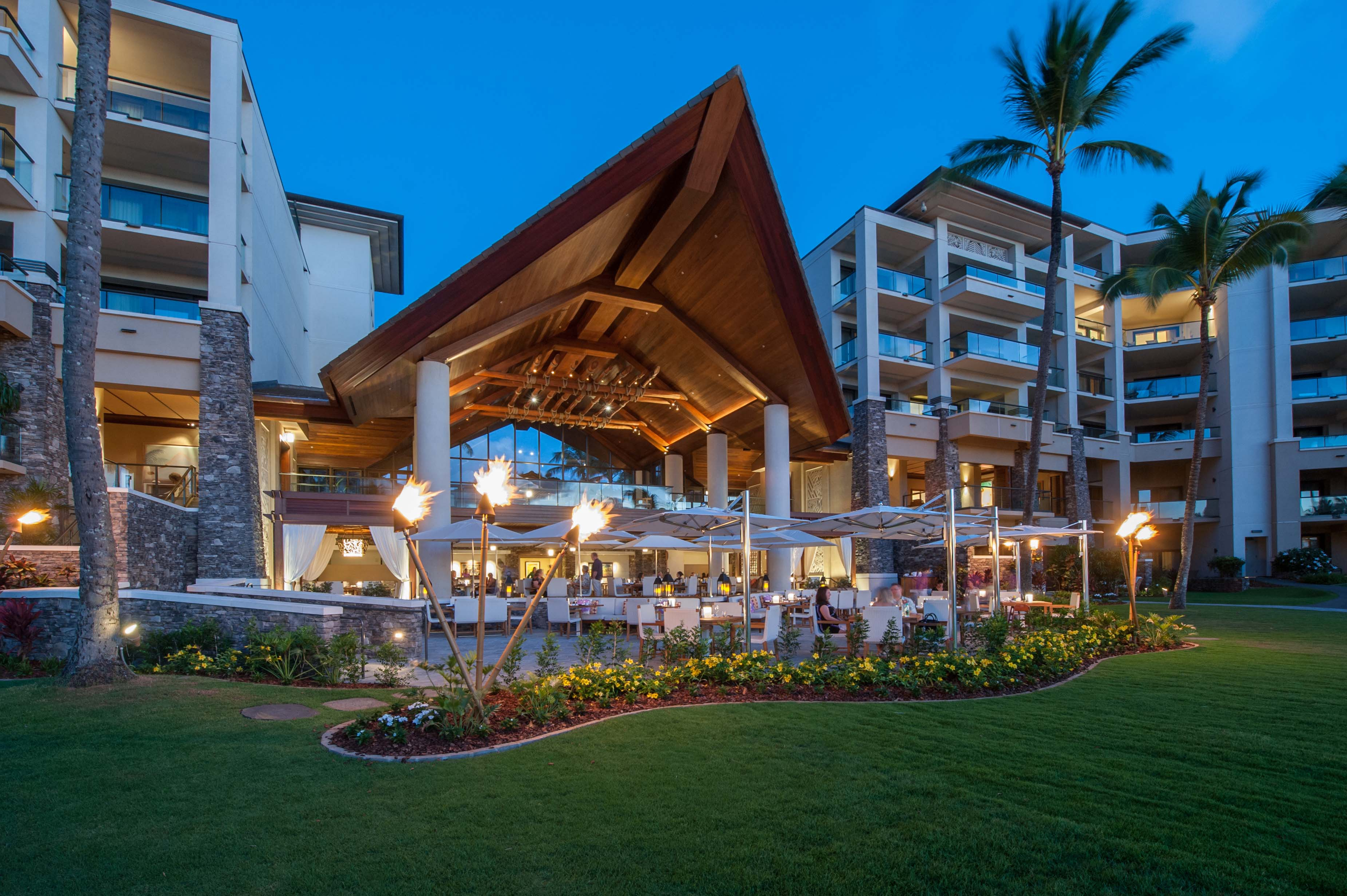 Well Known Maui Restaurants – Cane & Canoe At Montage Kapalua Bay Throughout Modern Home Wailea Woven Rattan Loungers (Gallery 25 of 25)