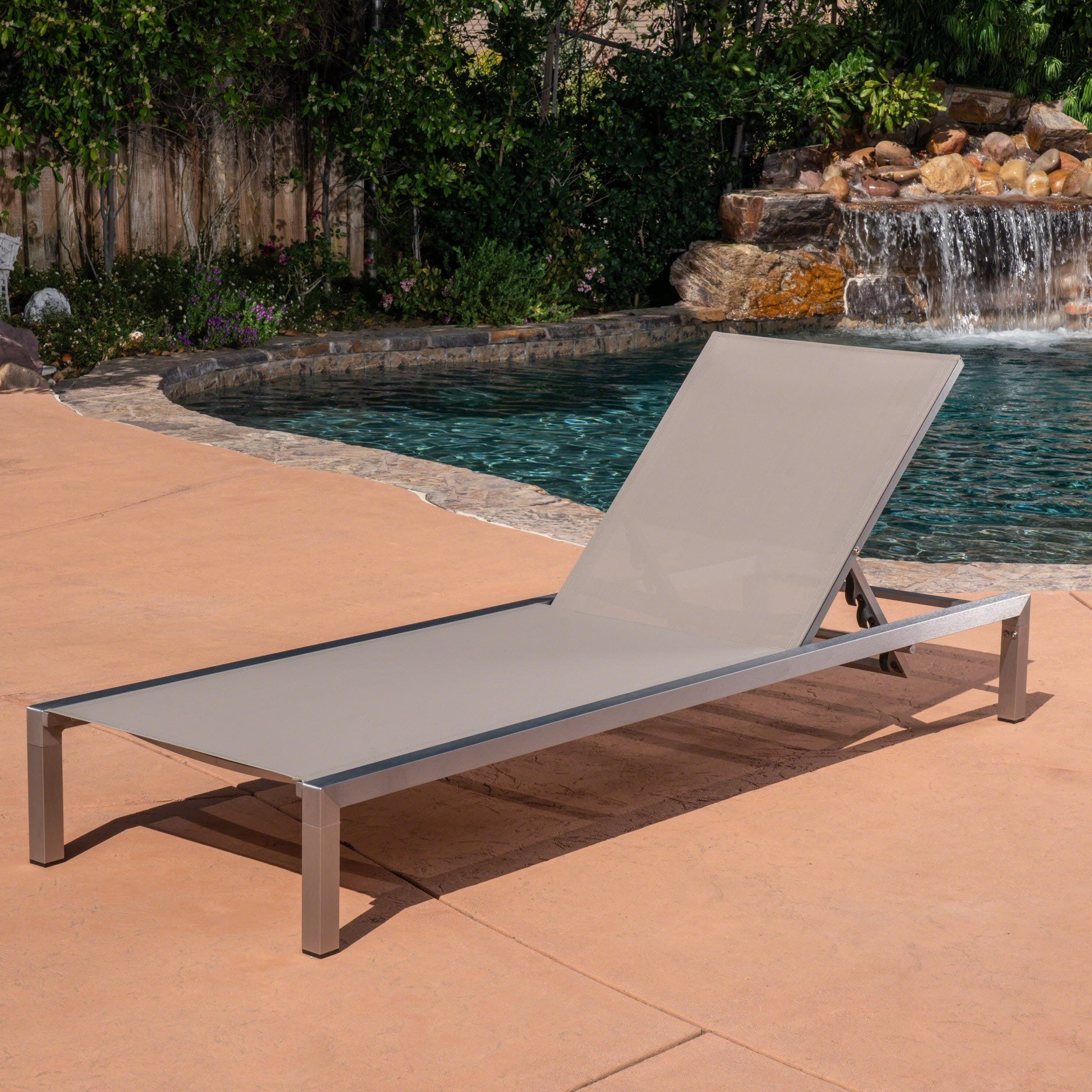 Well Known Navan Outdoor Aluminum Chaise Lounges With Cushion Inside Navan Outdoor Chaise Loungechristopher Knight Home (View 9 of 25)