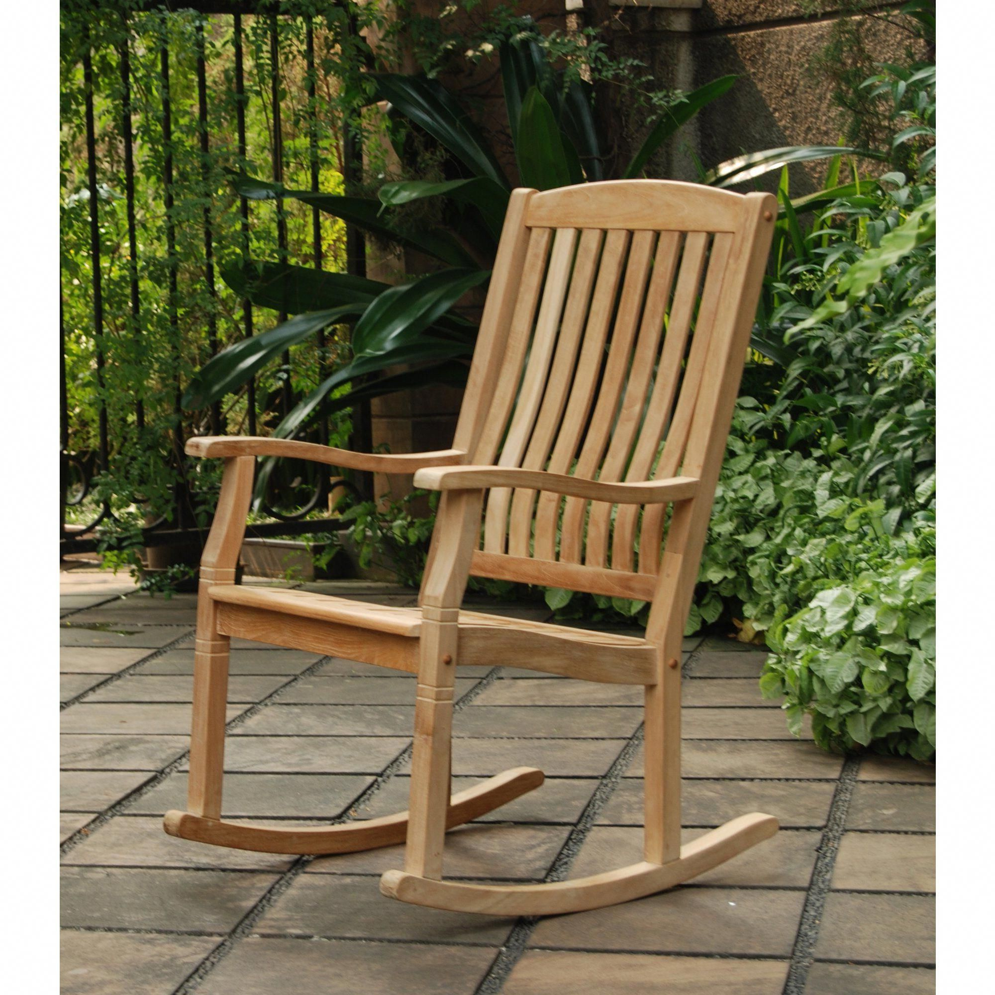 Well Known Seymour Porch Rocking Chair Sale $210 Teak Wood #chairsale Intended For Cambridge Casual Sherwood Teak Chaise Lounges (View 19 of 25)