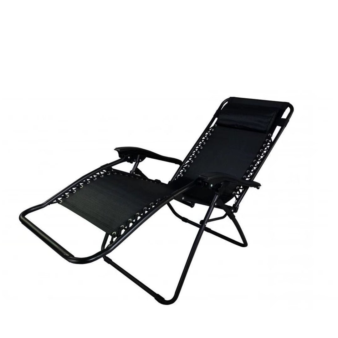 Well Known Zero Gravity Chair Lounge Recliner Outdoor Patio Garden Folding Chair Pertaining To Outdoor Yard Pool Recliner Folding Lounge Table Chairs (View 12 of 25)